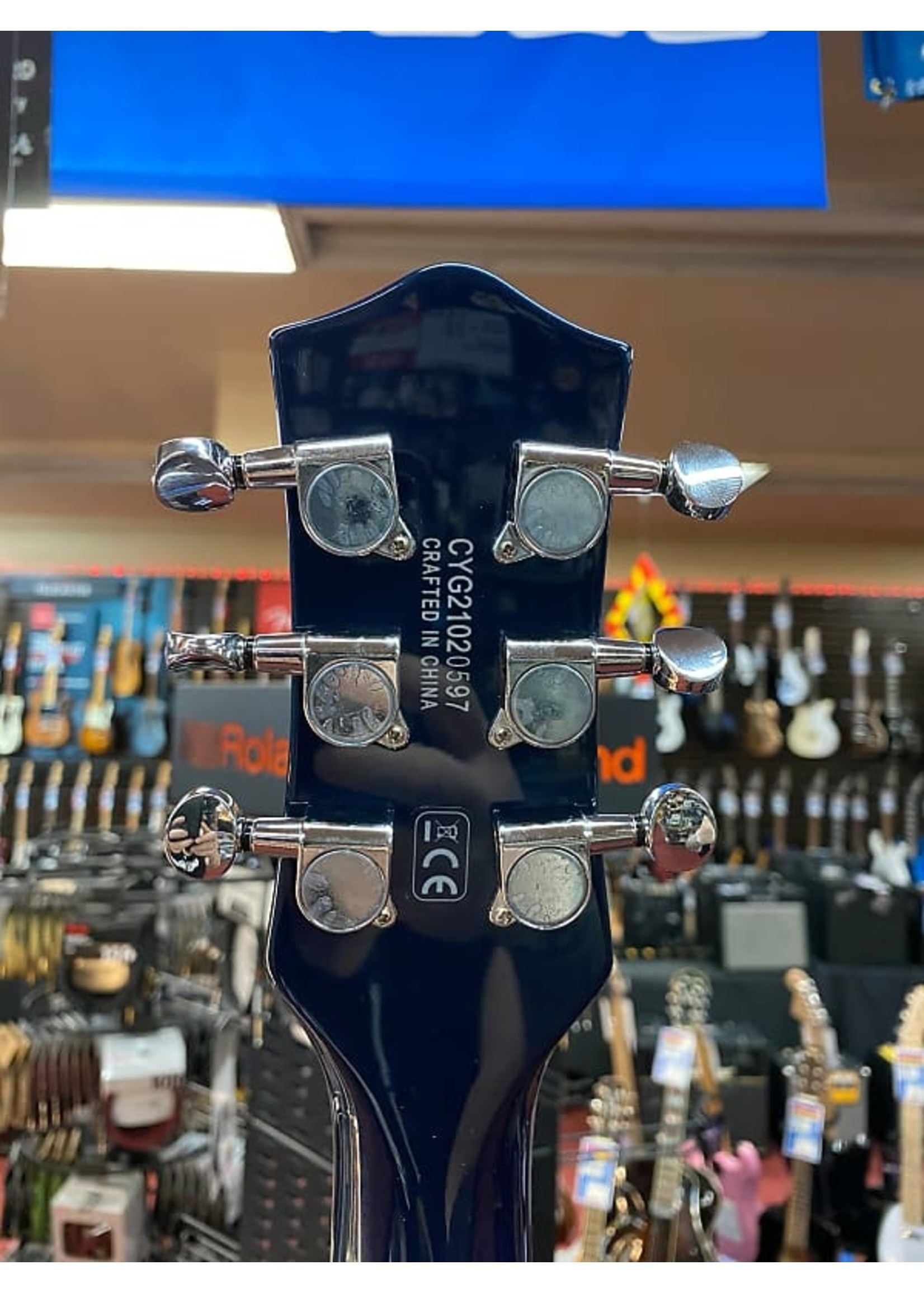 Gretsch Gretsch G5232T Electromatic® Double Jet™ FT with Bigsby®, Laurel Fingerboard, Midnight Sapphire