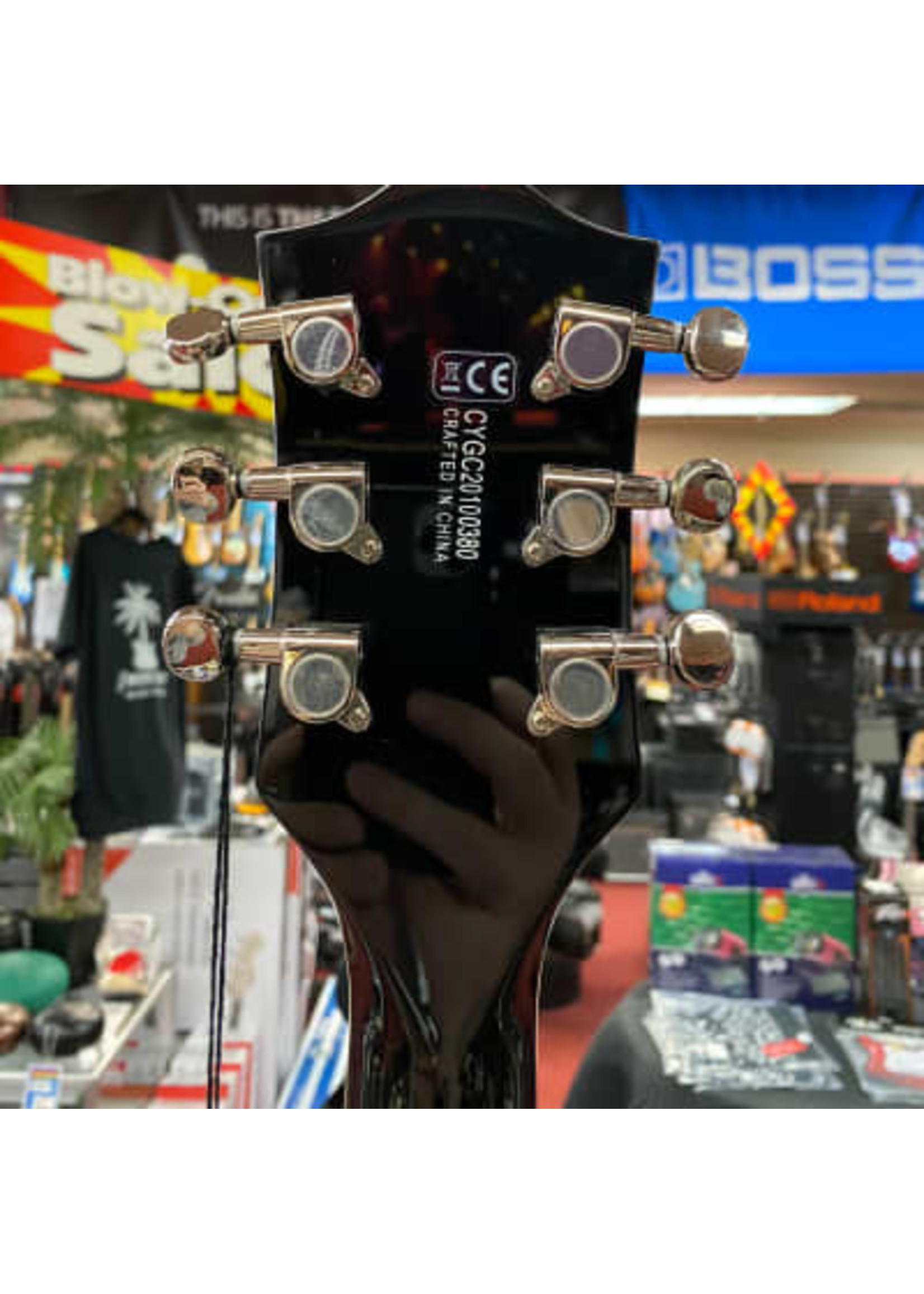 Gretsch Gretsch G5622 Electromatic® Center Block Double-Cut w/ V-Stoptail, Laurel Fingerboard, Bristol Fog