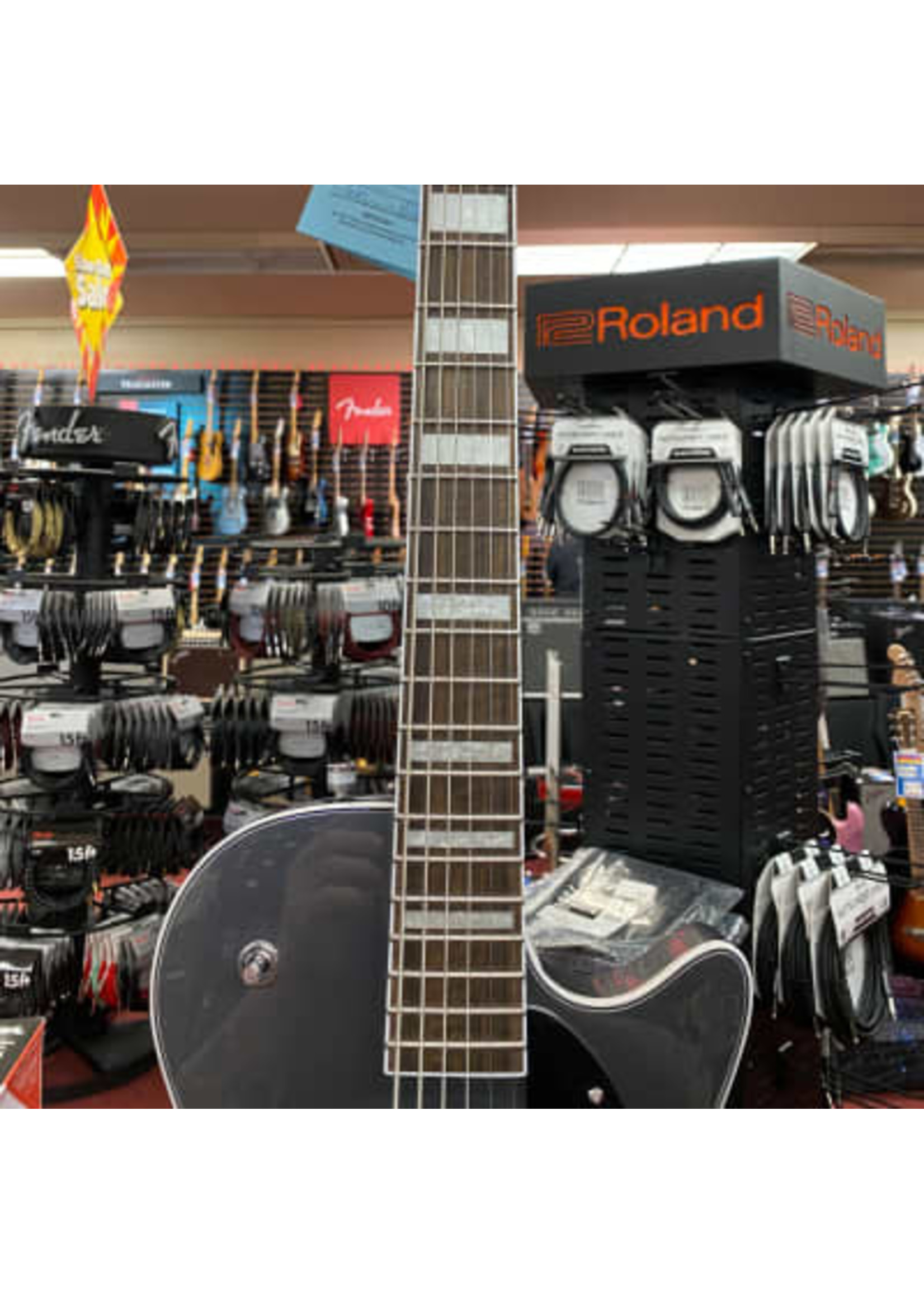 Gretsch Gretsch G5260 Electromatic® Jet™ Baritone with V-Stoptail, Laurel Fingerboard, London Grey