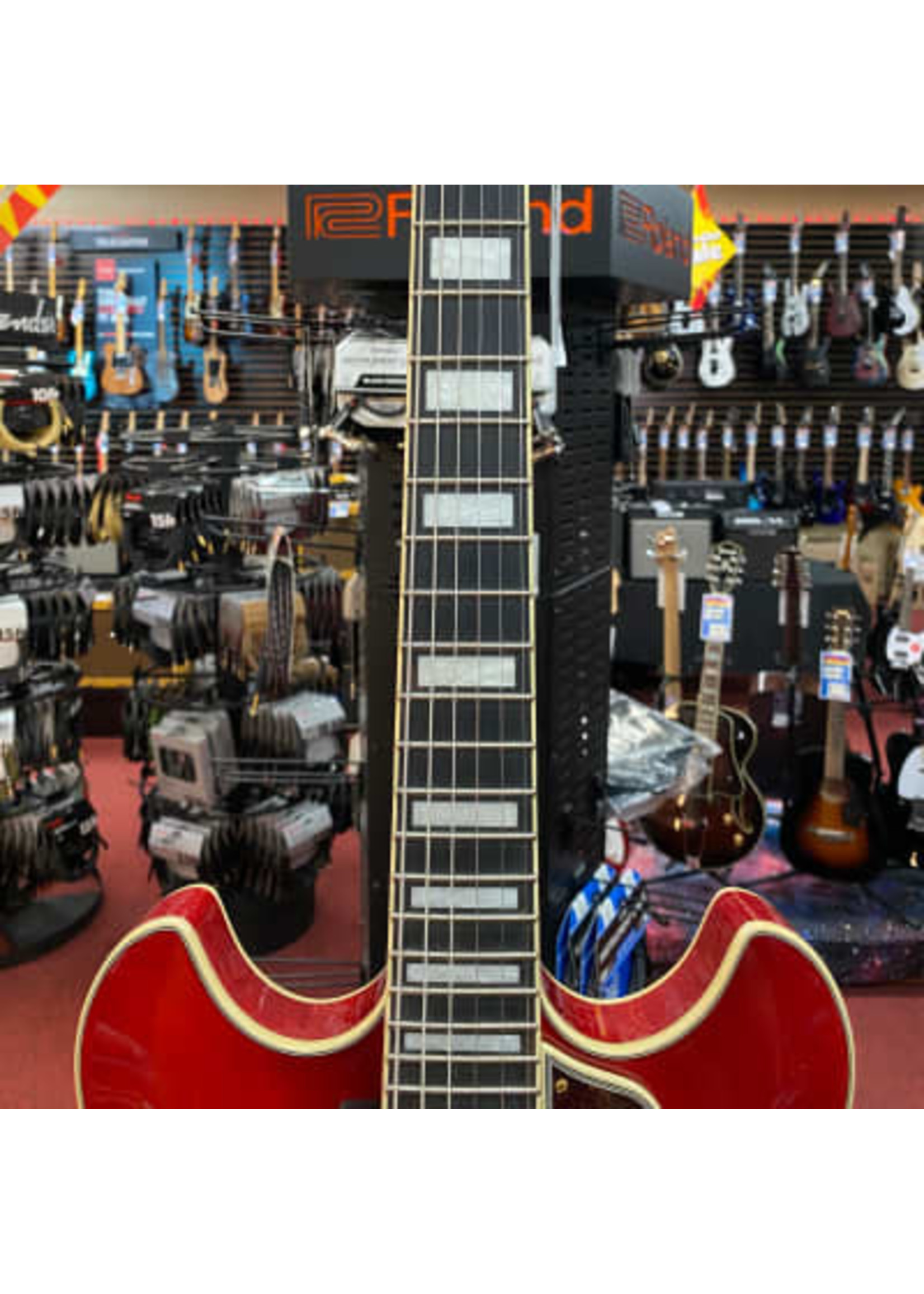 Ibanez Ibanez Artcore Expressionist AS93FM Semi-Hollow Electric Guitar - Transparent Cherry Red