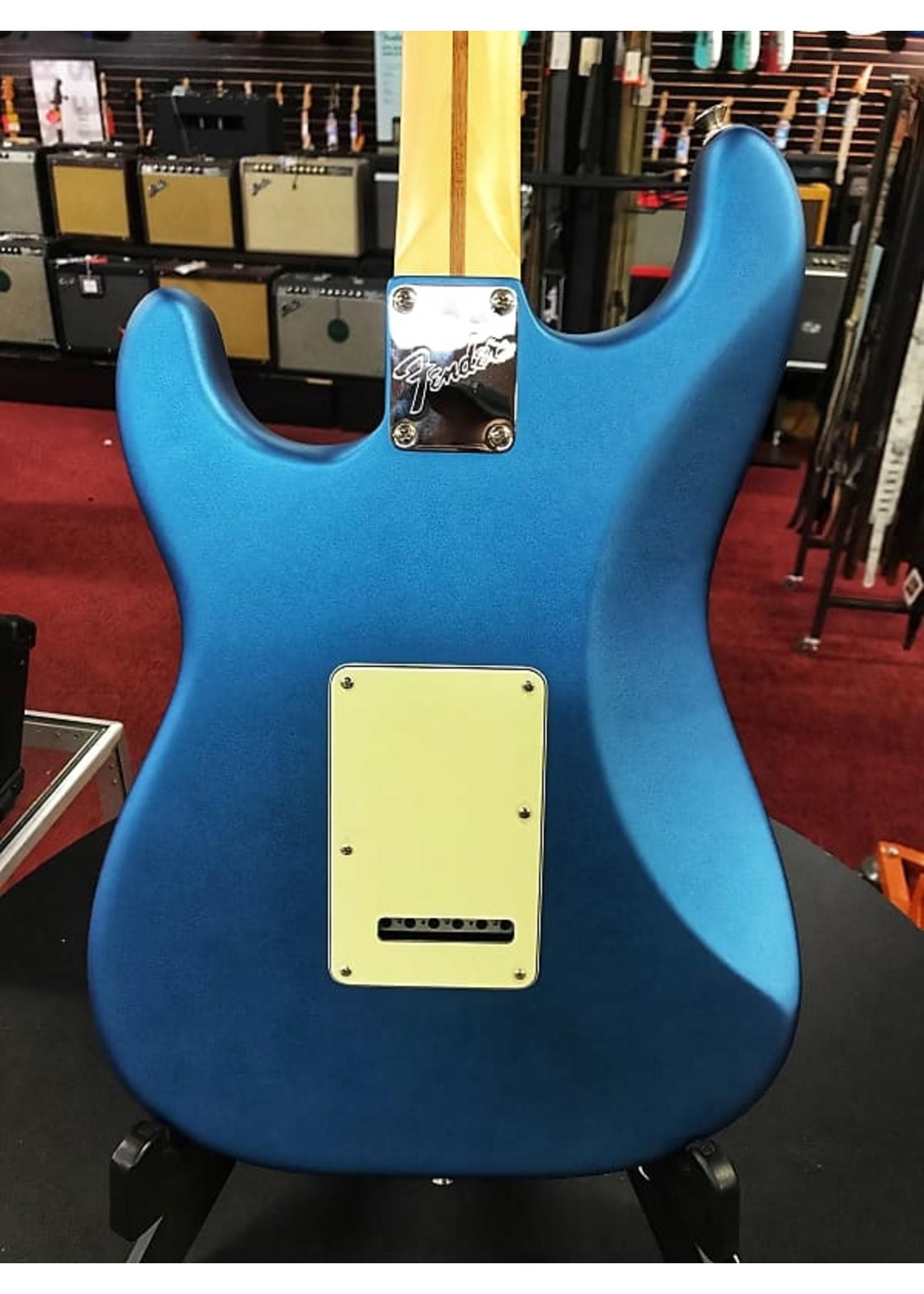 Fender Fender American Performer Stratocaster, Maple Fingerboard Satin Lake Placid Blue
