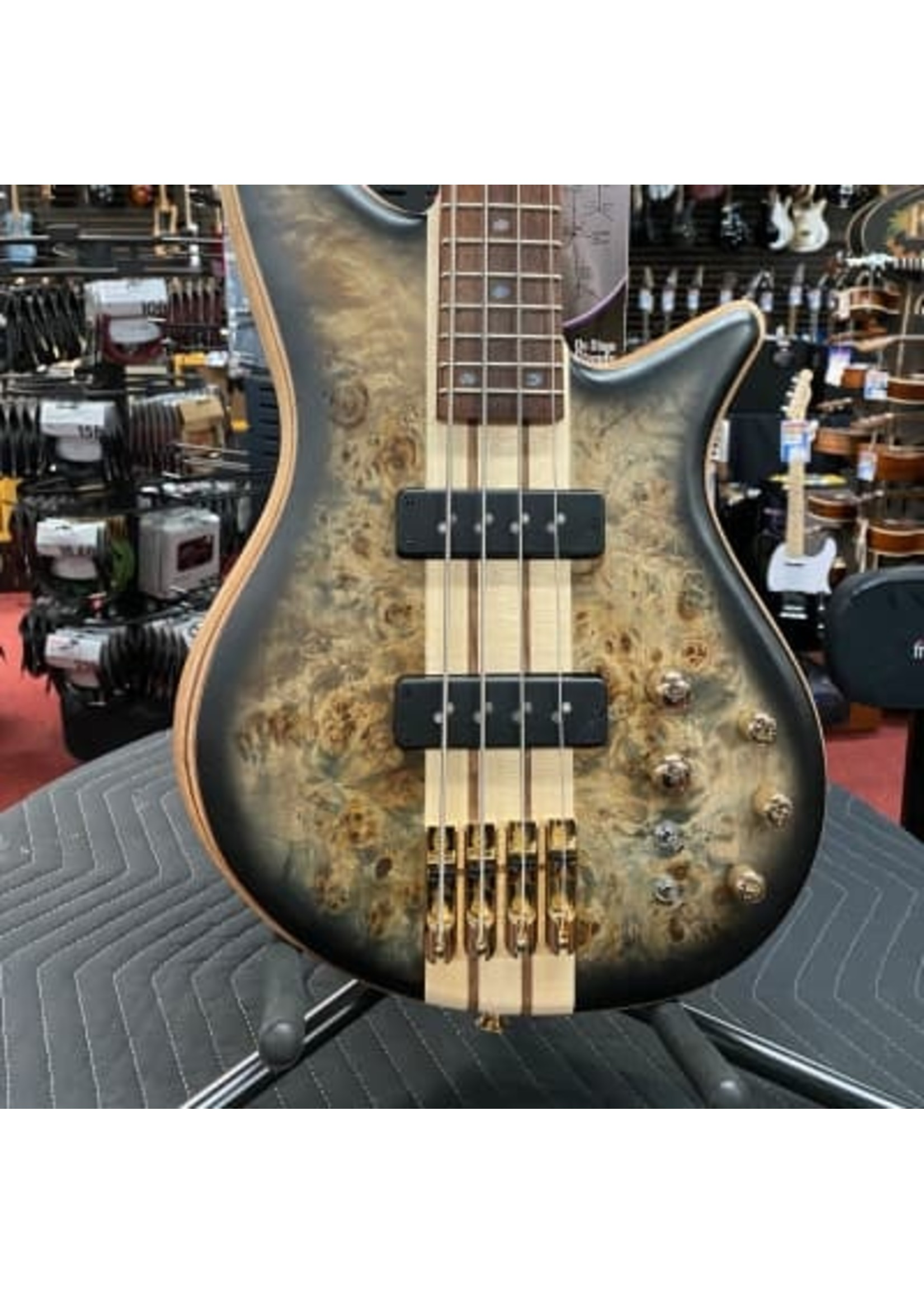 Jackson Jackson Pro Series Spectra Bass SBP IV, Caramelized Jatoba Fingerboard, Transparent Black Burst