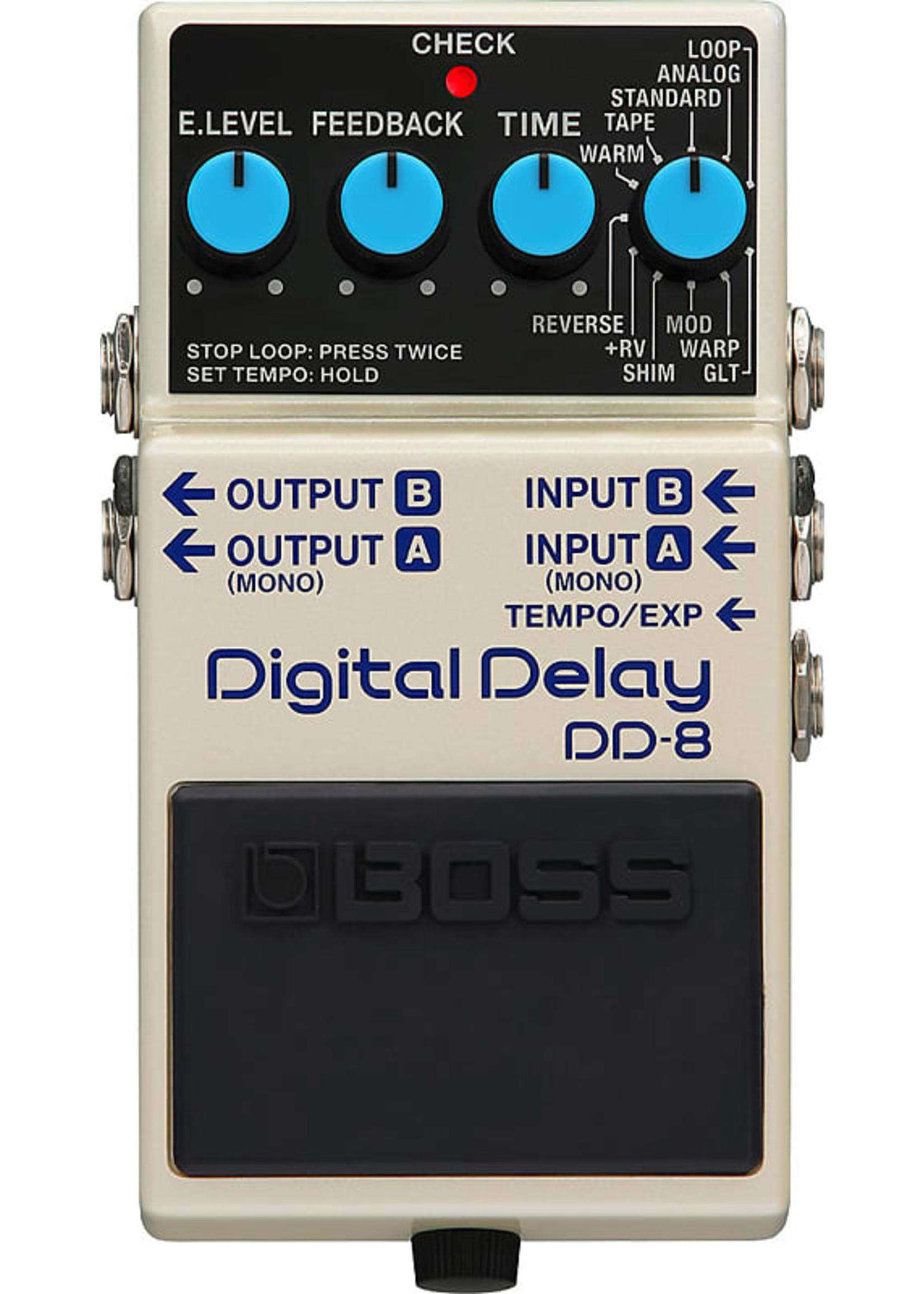 Boss Boss DD-8 Digital Delay Pedal