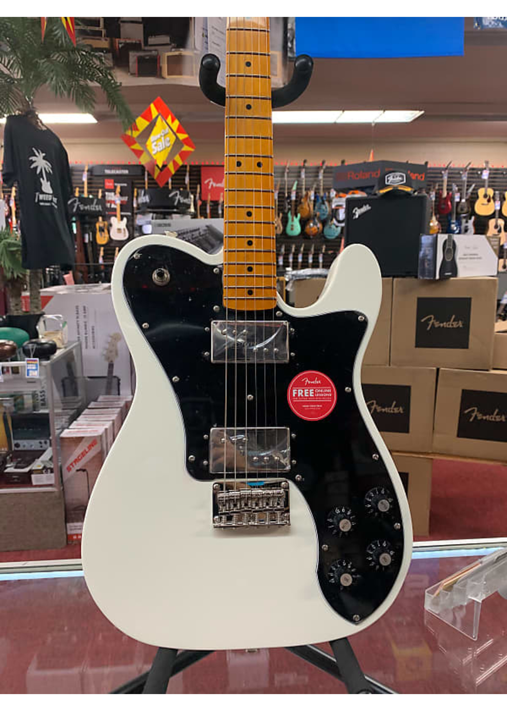 Squier Squier Classic Vibe '70s Telecaster Deluxe - Olympic White