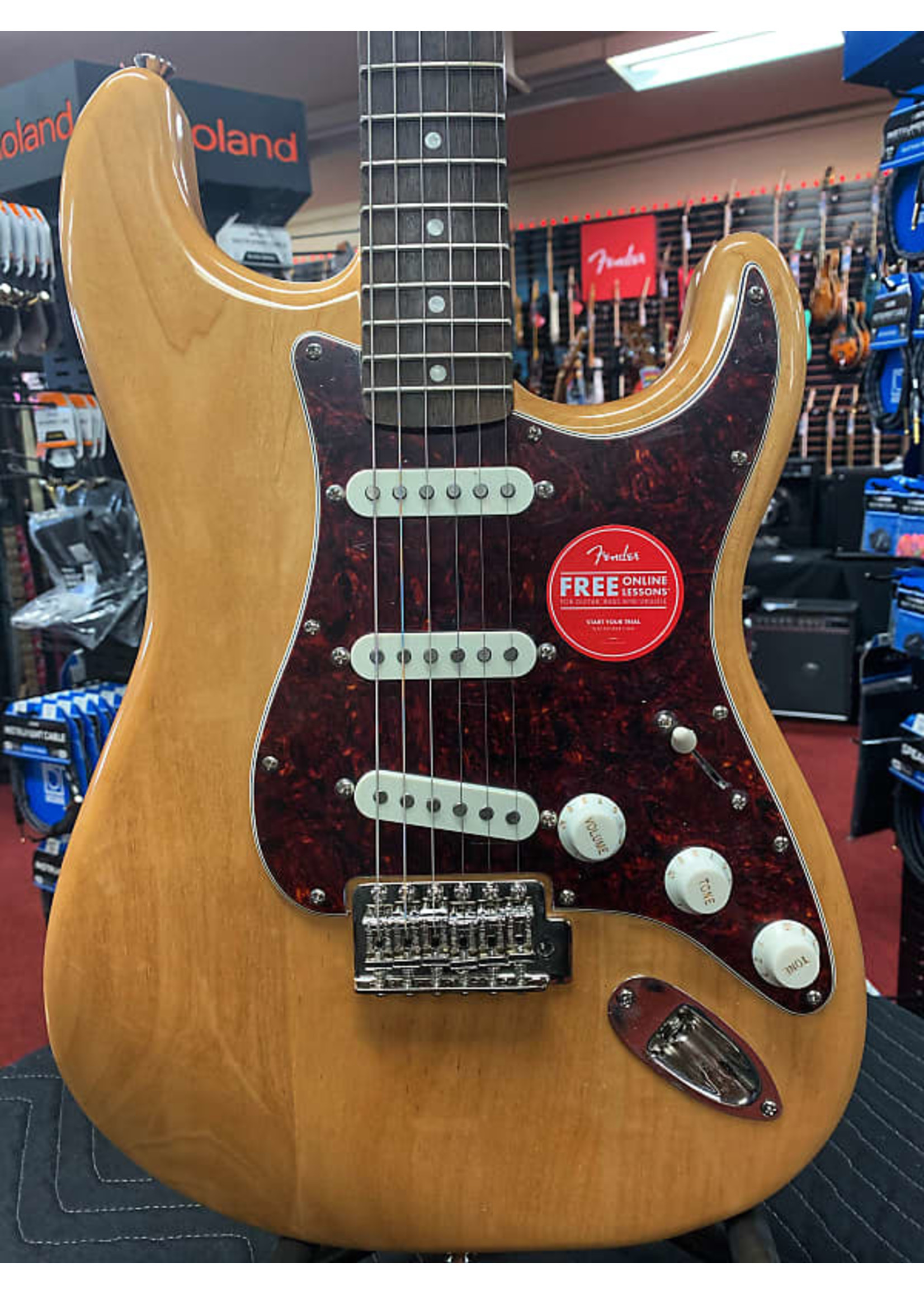 Squier Squier Classic Vibe '70s Stratocaster - Natural