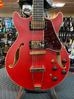 Ibanez Ibanez Artcore Expressionist AMH90 Semi-hollowbody Electric Guitar - Cherry Red Flat