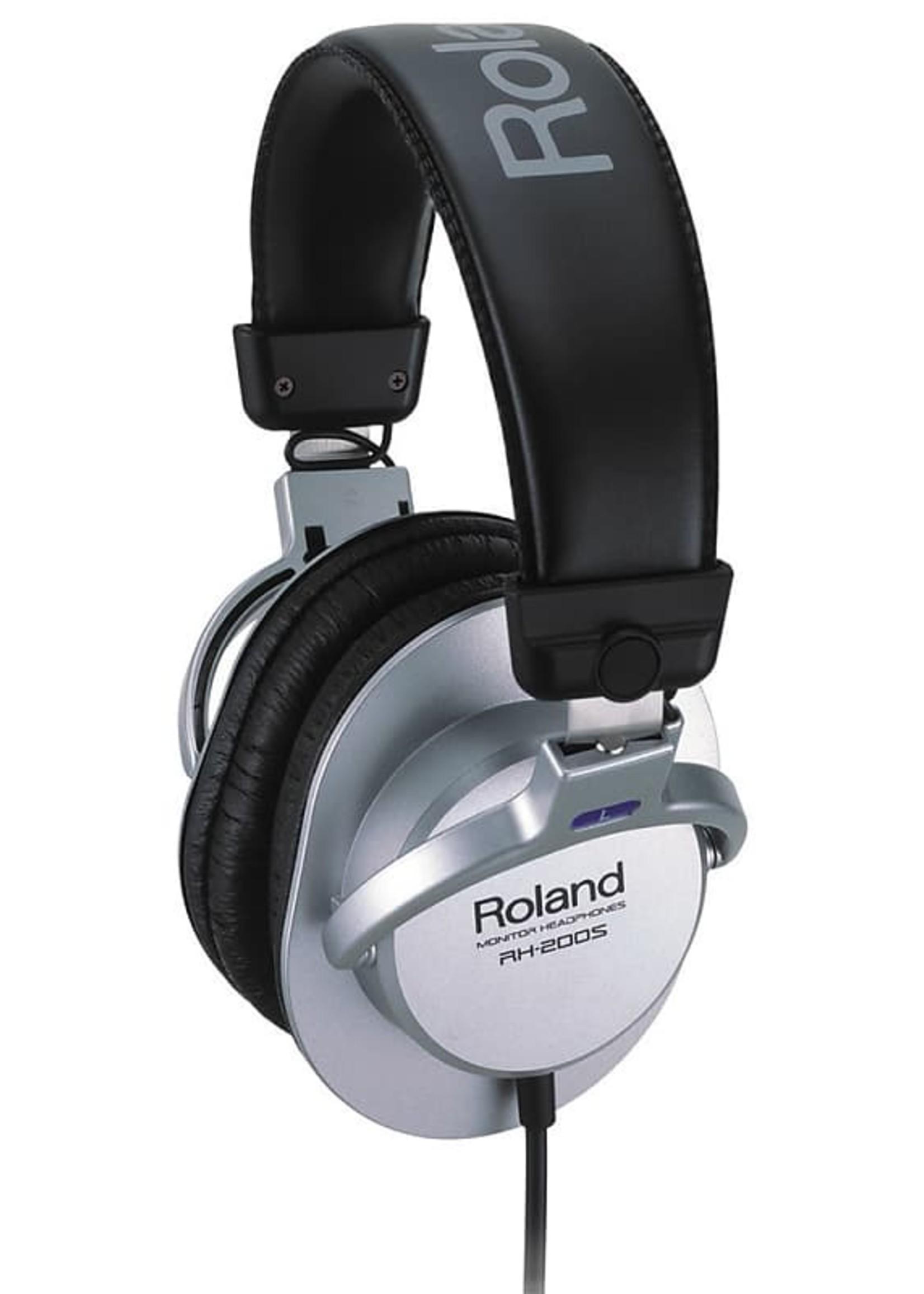 Roland Roland RH-200S Monitor Headphones Silver