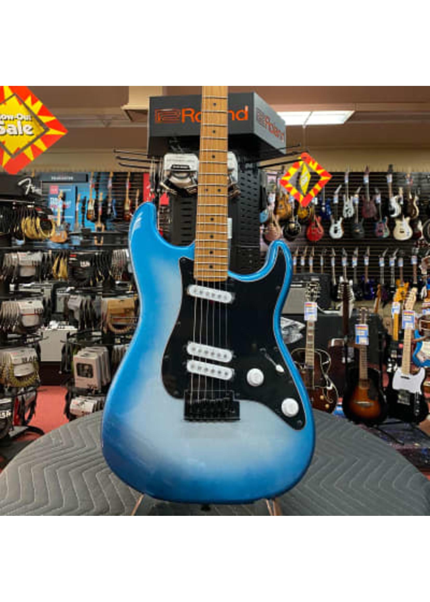 Squier Contemporary Stratocaster® Special, Roasted Maple Fingerboard, Black Pickguard, Sky Burst Metallic