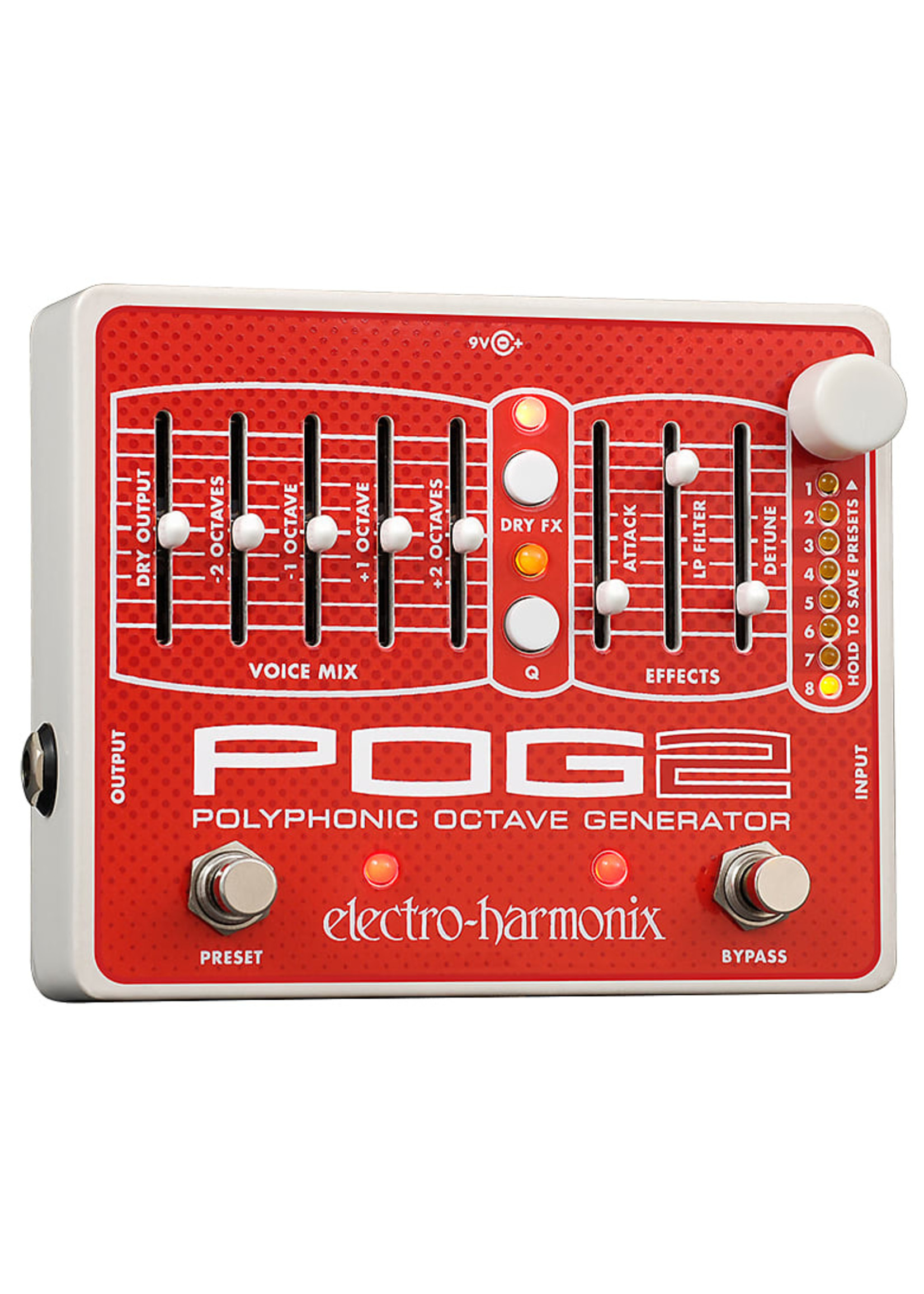 Electro-Harmonix Electro-Harmonix POG 2 Polyphonic Octave Generator Pedal