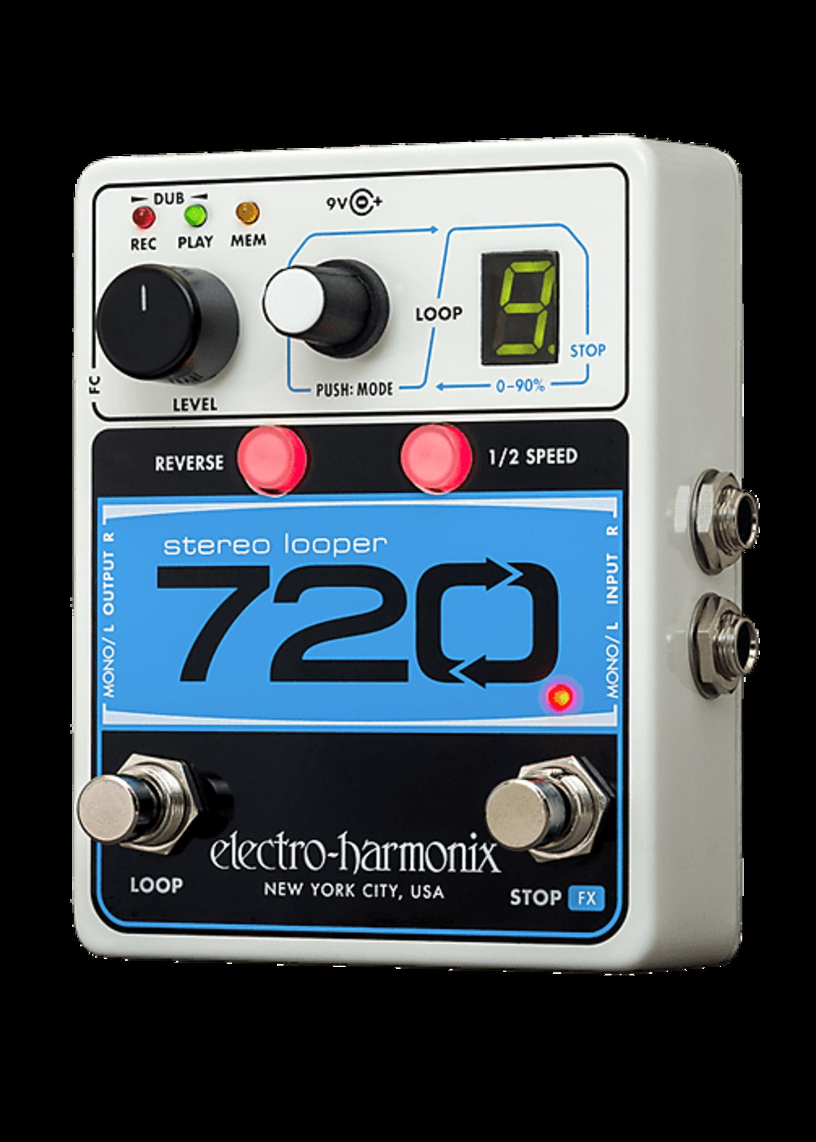 Electro-Harmonix Electro-Harmonix 720 Stereo Looper Pedal