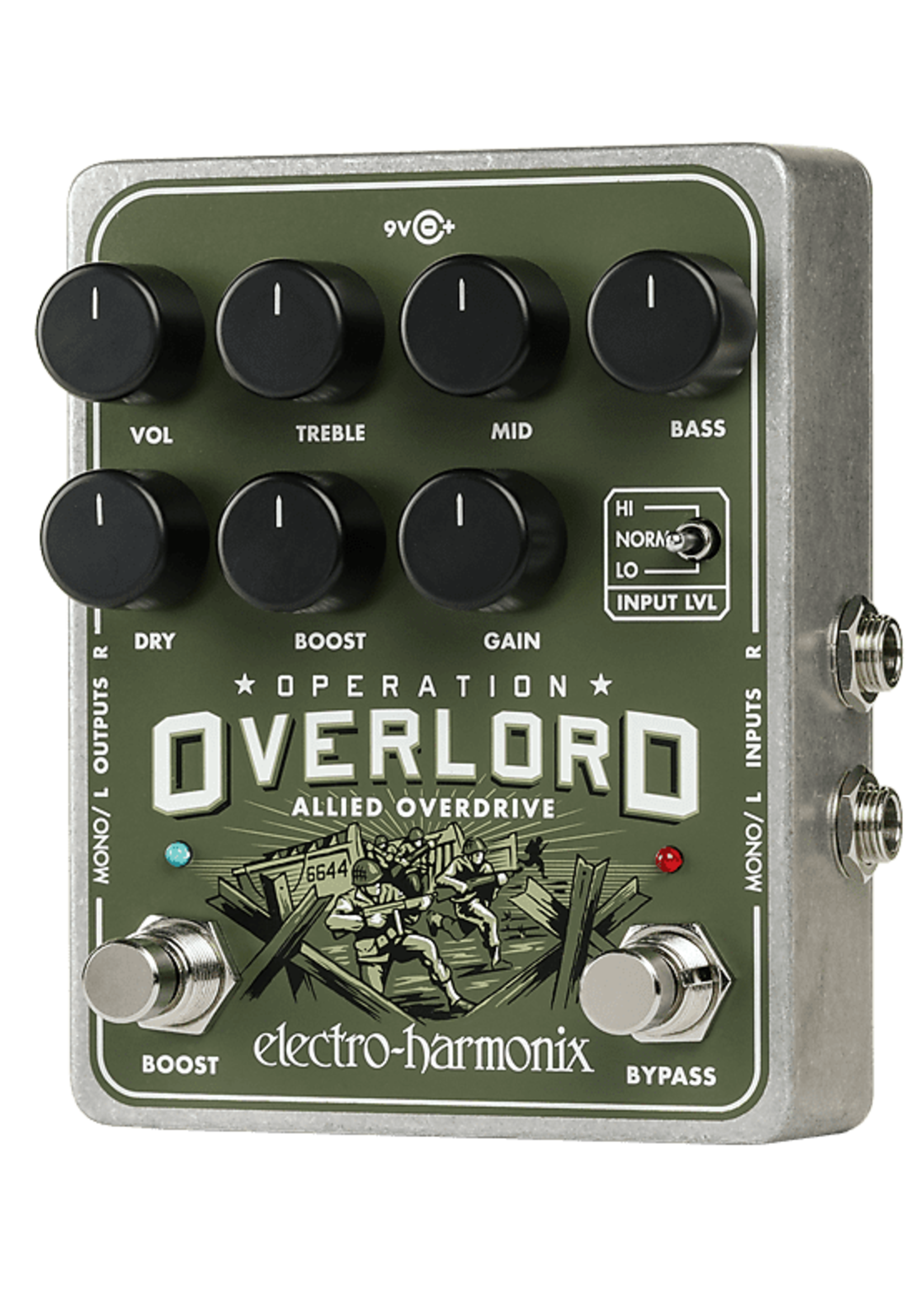 Electro-Harmonix Electro-Harmonix Operation Overlord Overdrive/Distortion