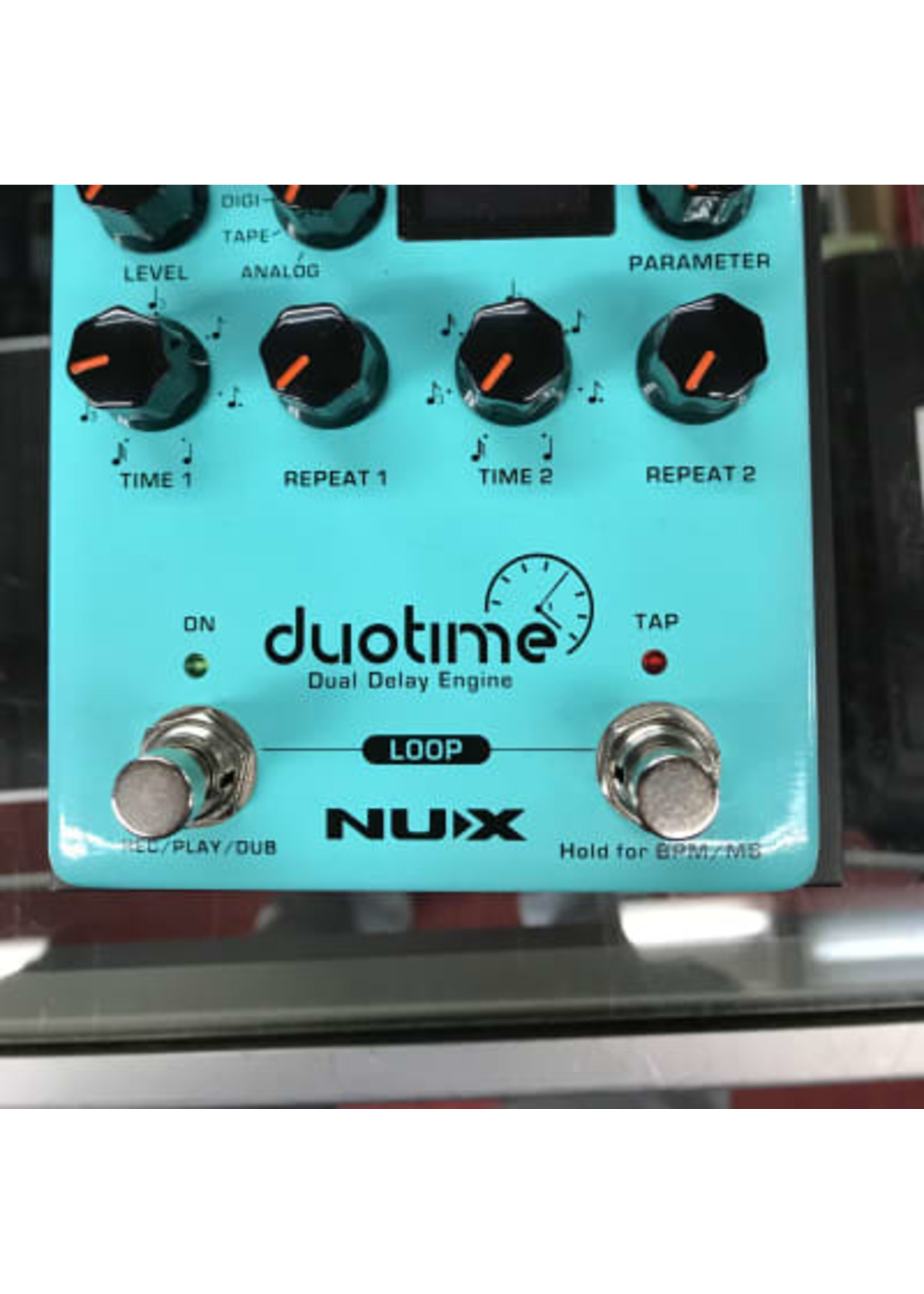 NuX NuX NDD6 Duotime Delay Pedal