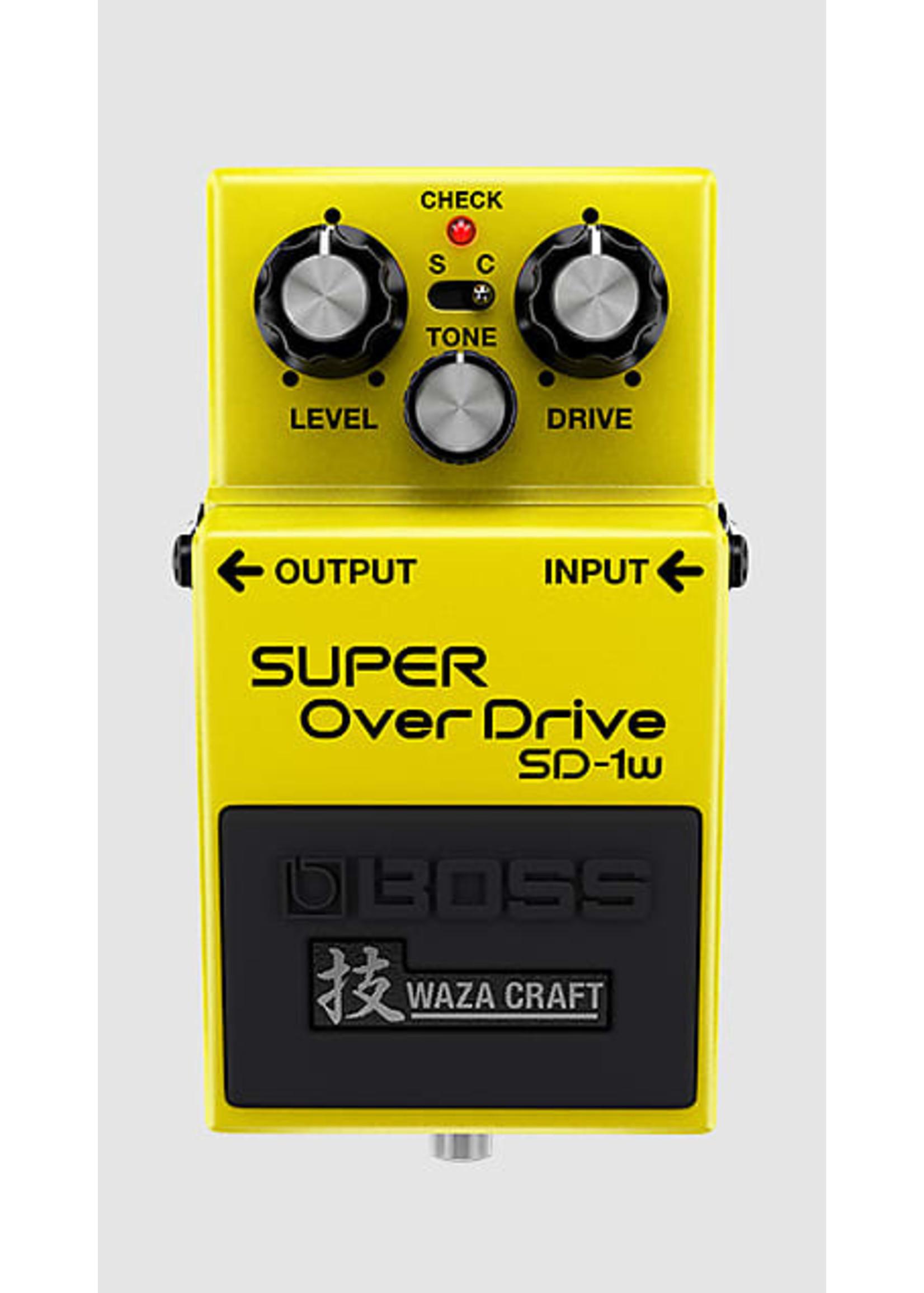 Boss Boss SD-1W Super Overdrive Waza Craft