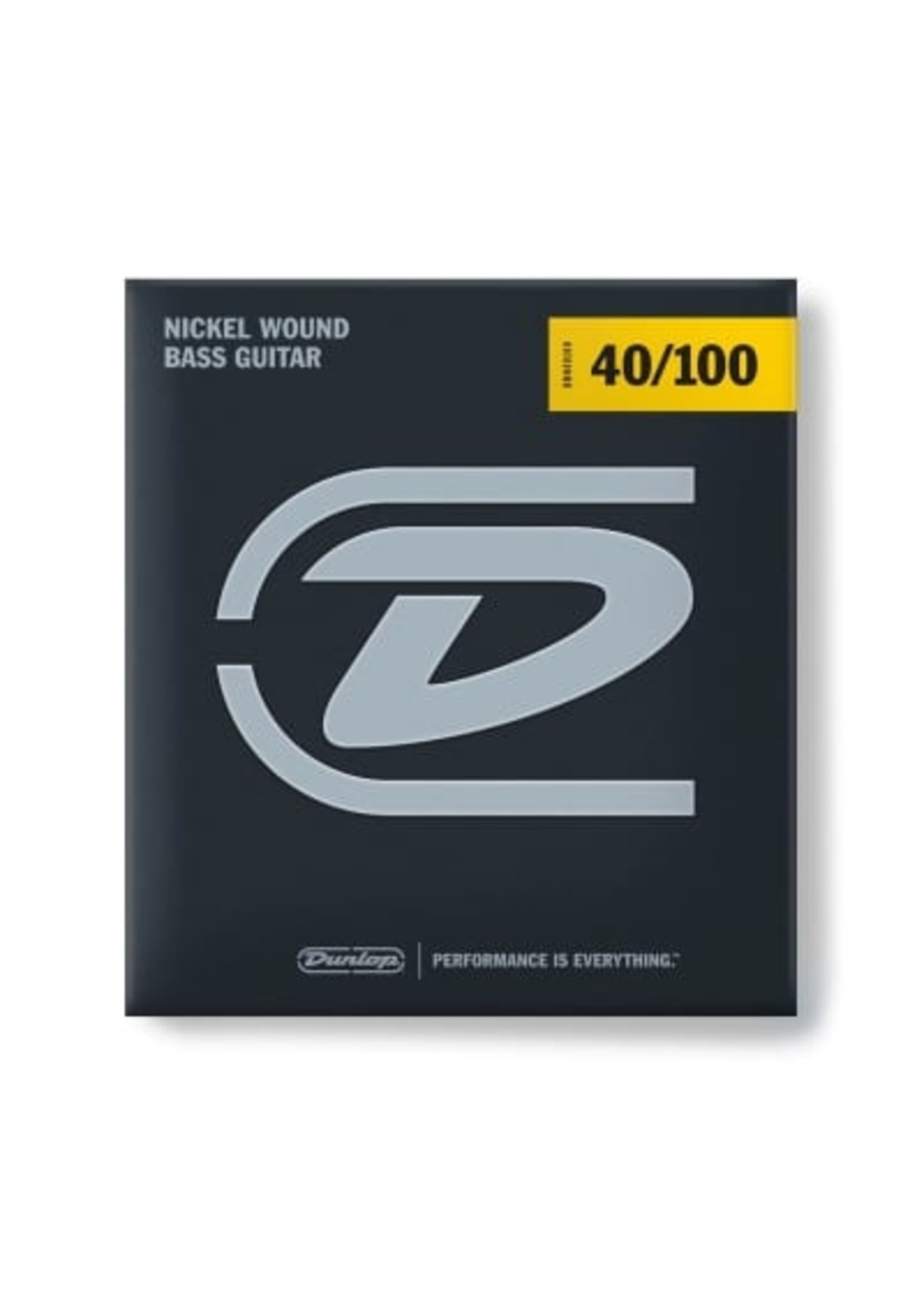 Dunlop Dunlop DBN40100 BASS NICKEL WOUND STRINGS 40-100