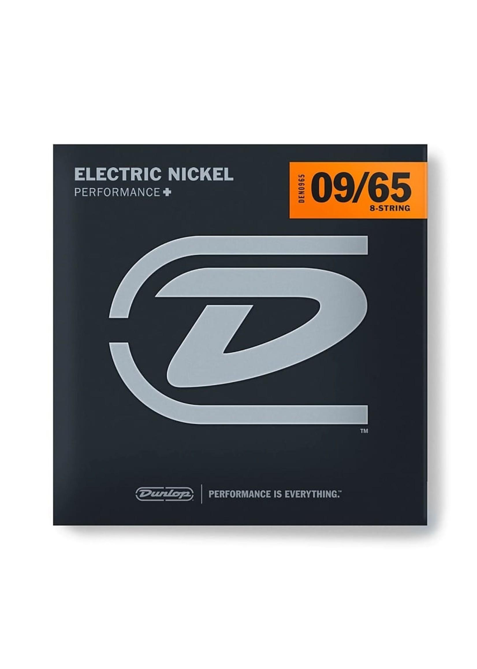 Dunlop Dunlop DEN0965 PERFORMANCE+ ELECTRIC GUITAR STRINGS 09-65 - 8 STRING