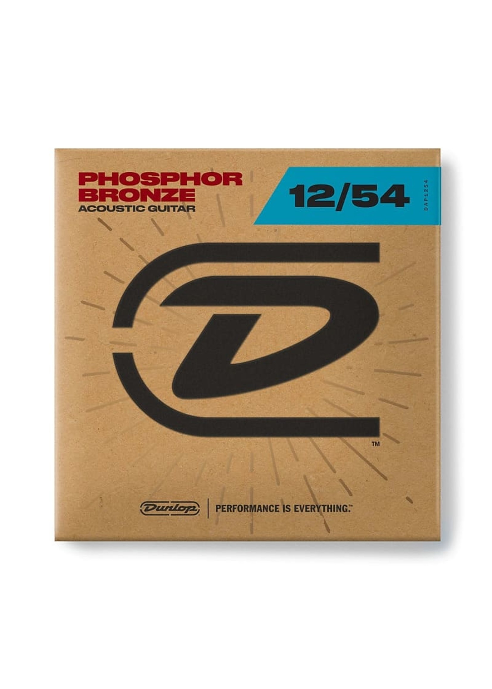 Dunlop DUNLOP DAP1254 ACOUSTIC PHOS BRONZE GUITAR STRINGS 12-54