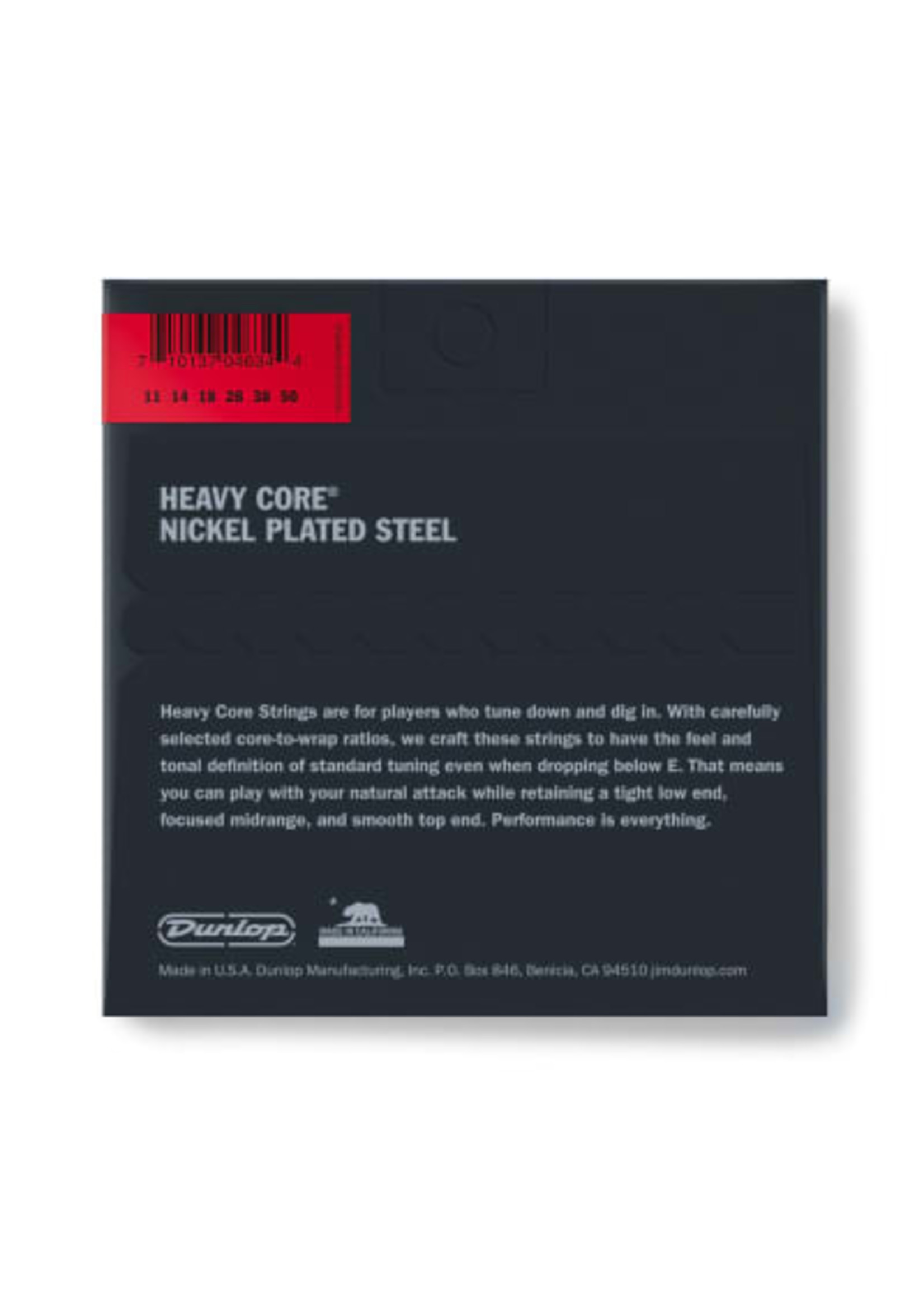 Dunlop Dunlop DHCN1150 HEAVY CORE ELECTRIC GUITAR STRINGS 11-50