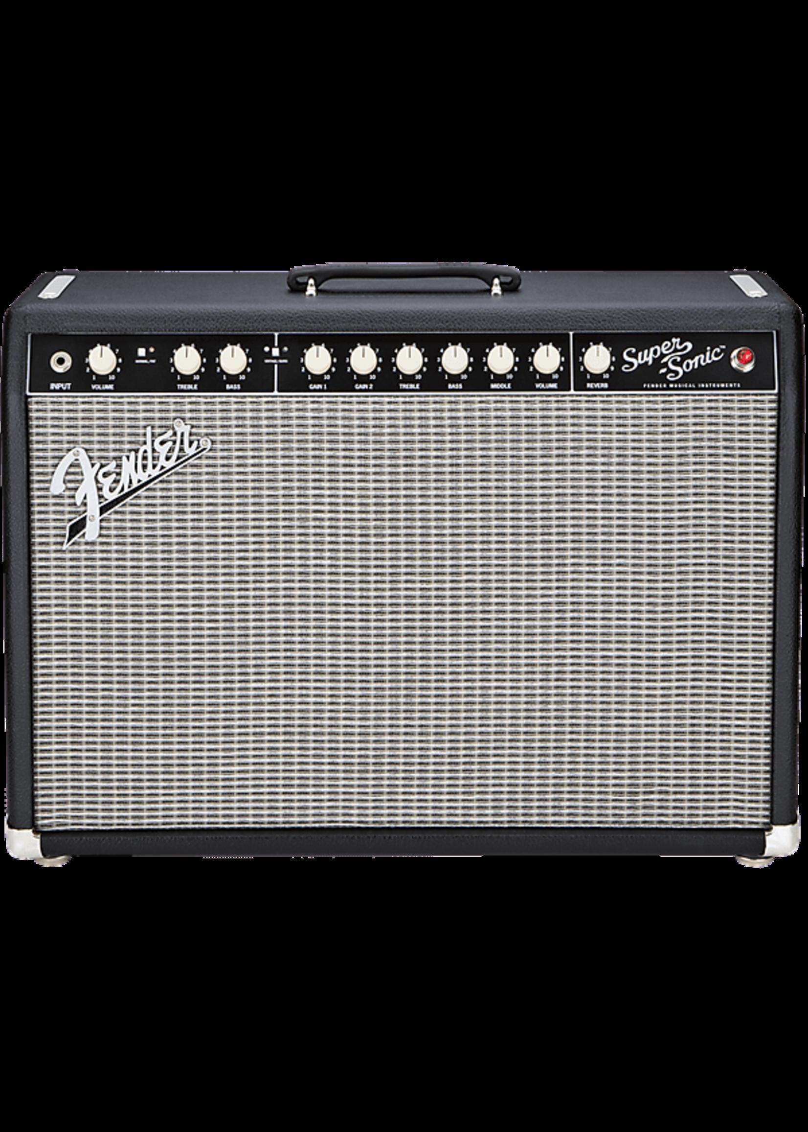 Fender Fender Super-Sonic™ 22 Combo, Black, 120V