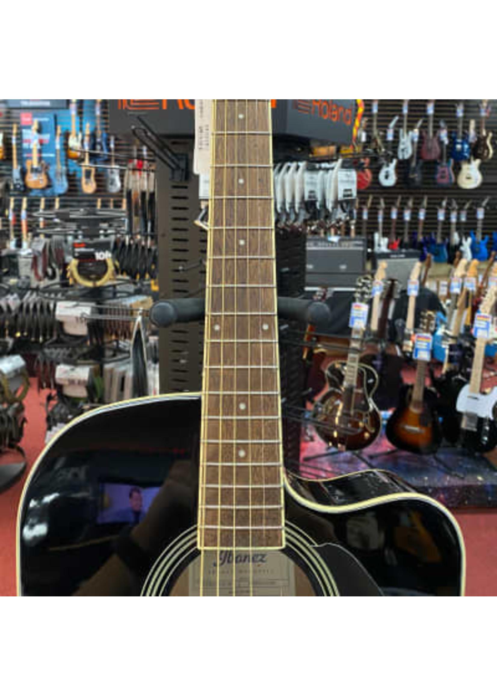 Ibanez Ibanez PF15ECE Dreadnought Acoustic-Electric Guitar - Black