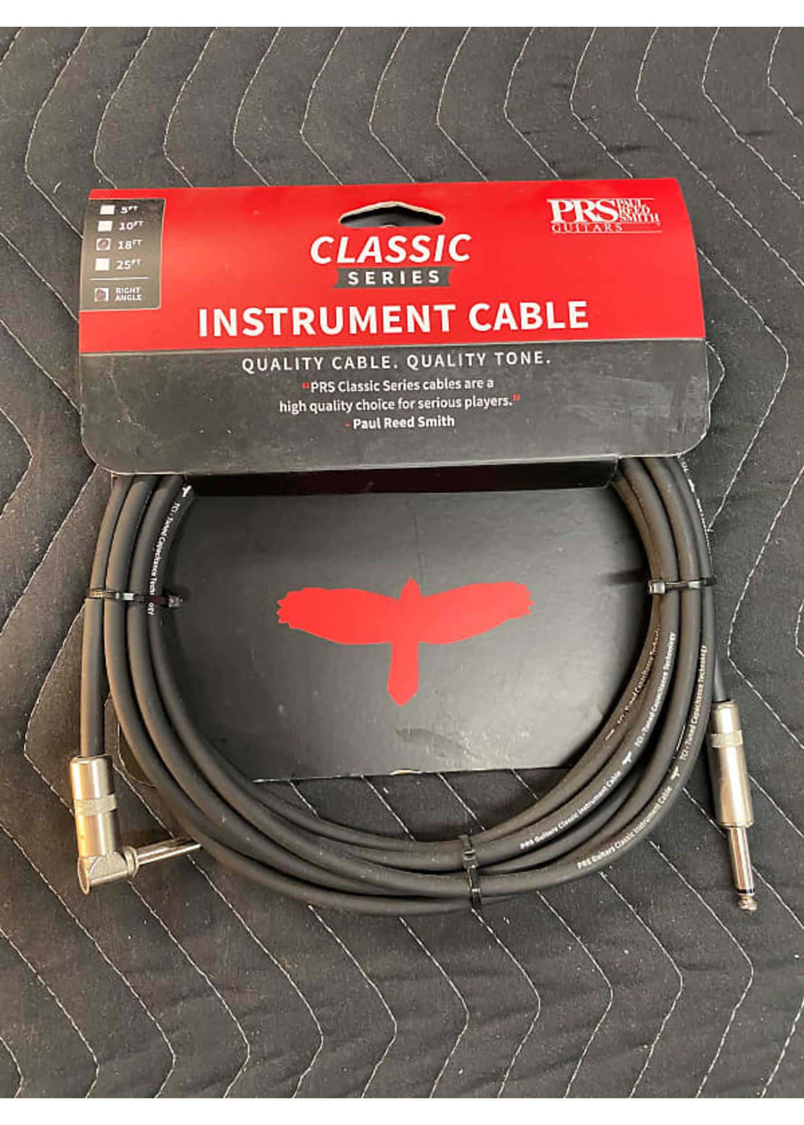 Paul Reed Smith PRS 18ft Classic Instrument Cable - Angle/Straight