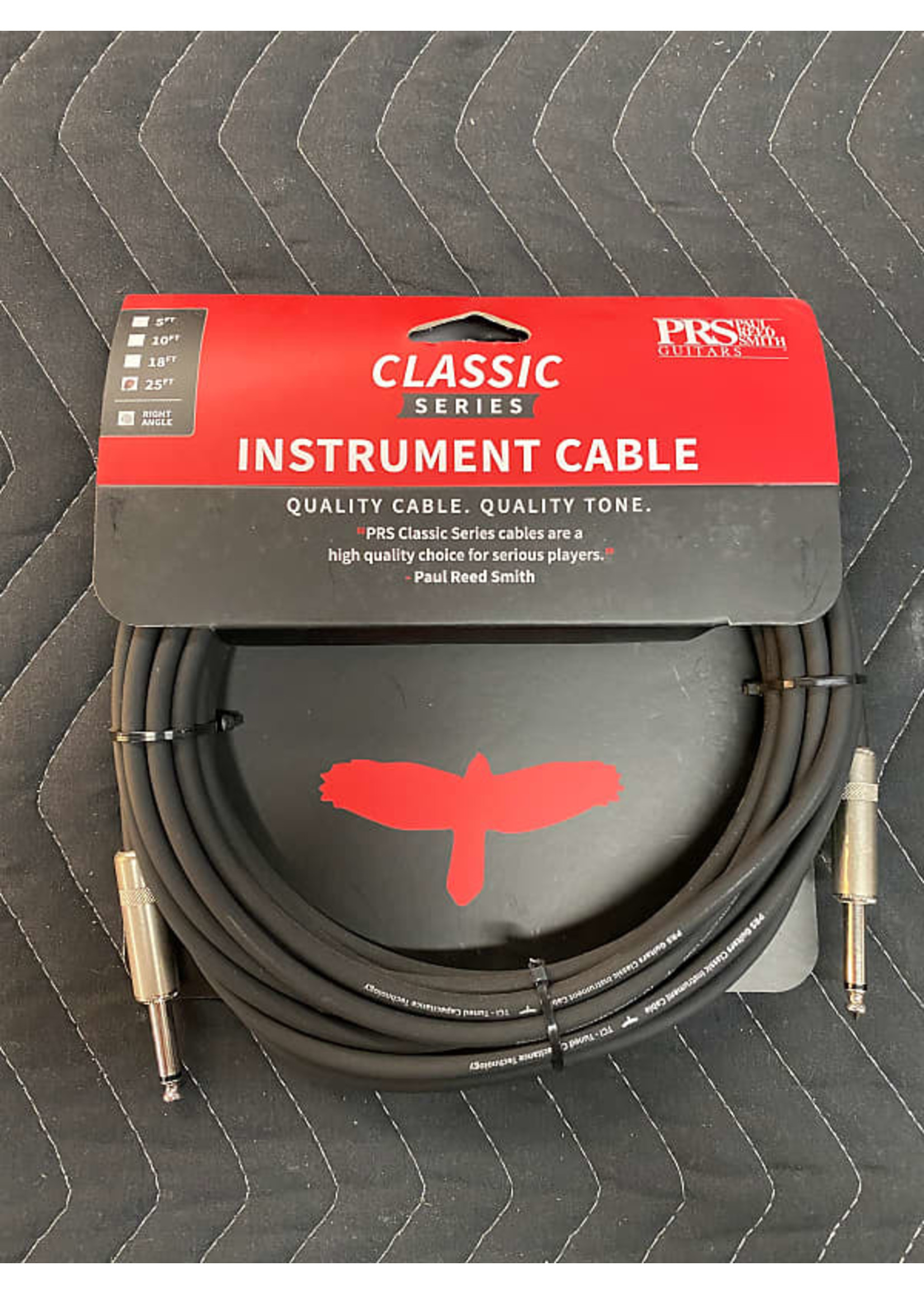 Paul Reed Smith PRS 25ft Classic Instrument Cable - Straight