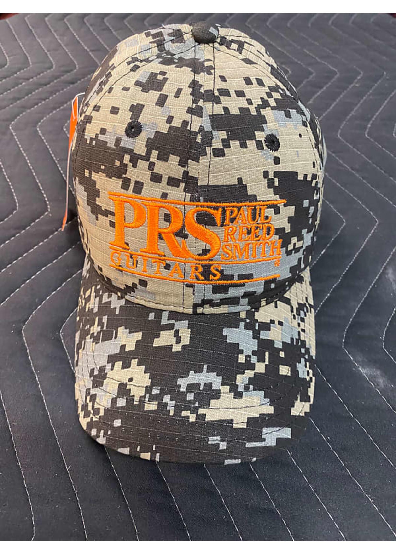 Paul Reed Smith PRS Block Logo Camo Baseball Hat