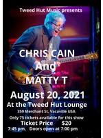 Matty T Tickets Chris Cain / Matty T 8/20/21 7:00pm Concert