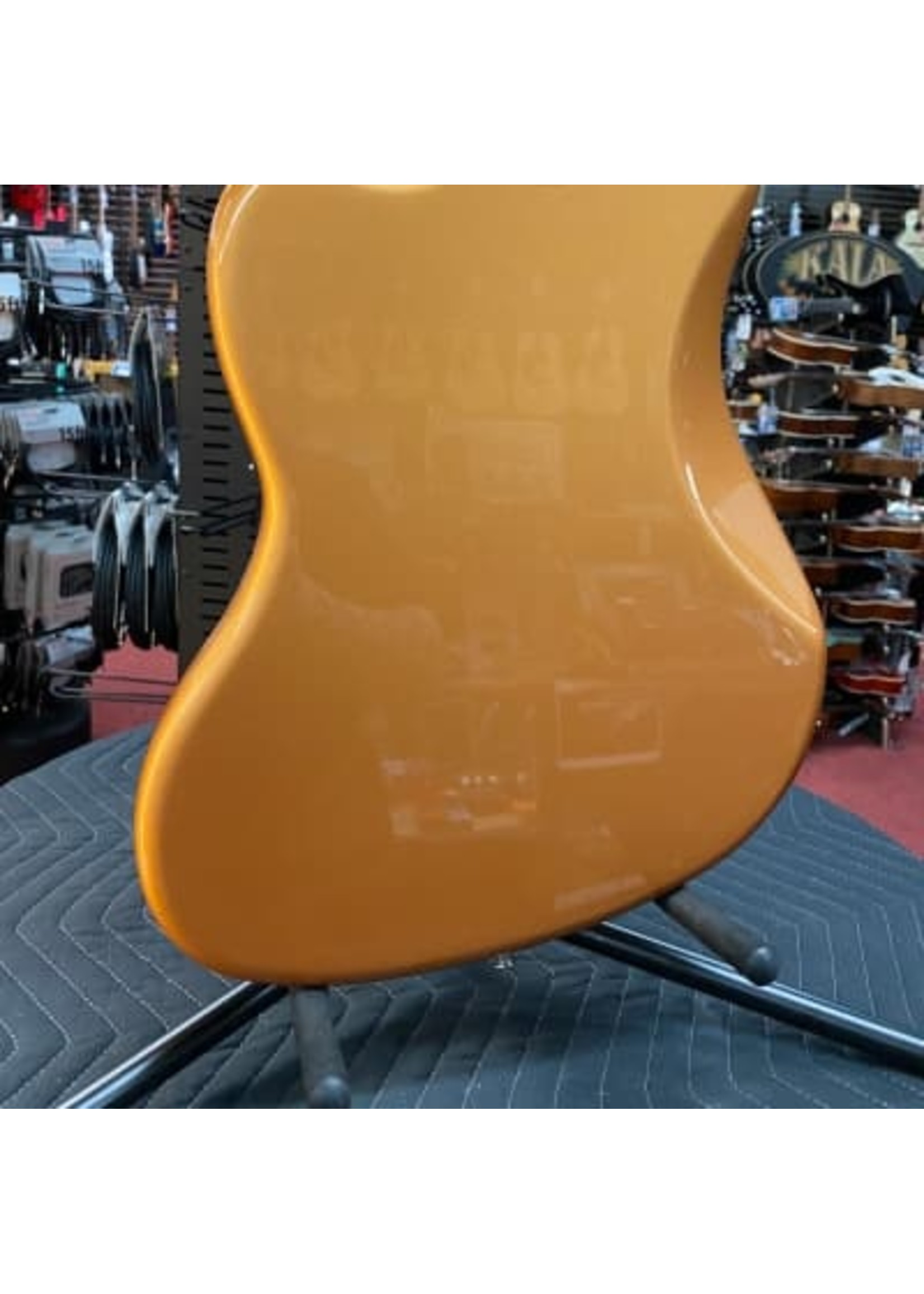Fender Fender Troy Van Leeuwen Jazzmaster®, Bound Maple Fingerboard, Copper Age