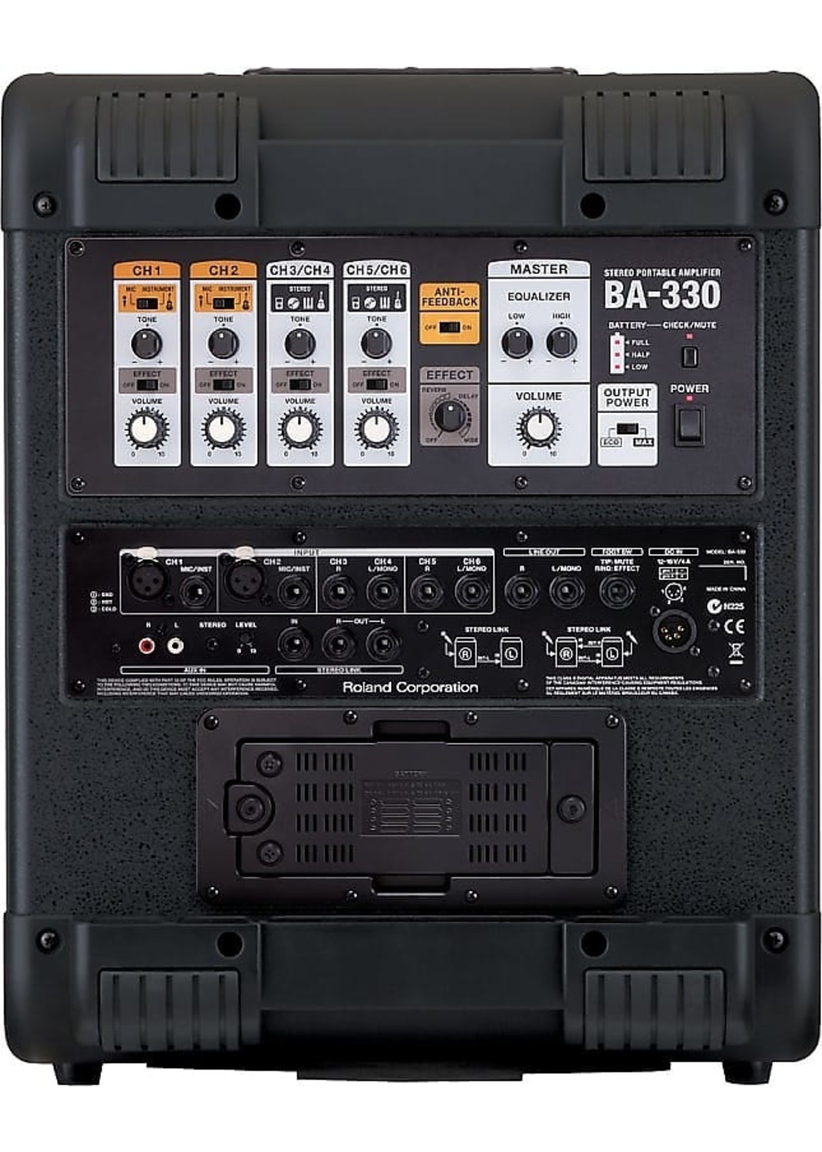 Roland Roland BA-330 Stereo Portable Amplifier
