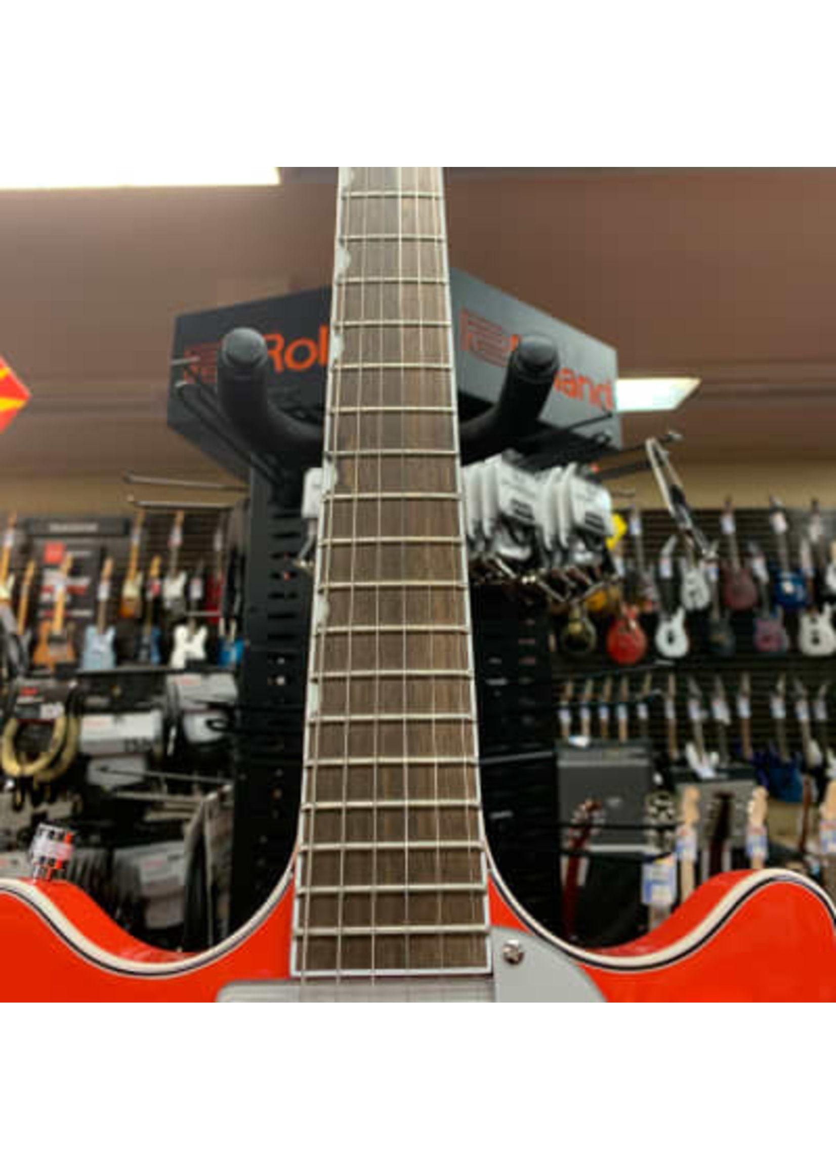 Gretsch Gretsch G5232T Electromatic® Double Jet™ FT with Bigsby®, Laurel Fingerboard, Tahiti Red