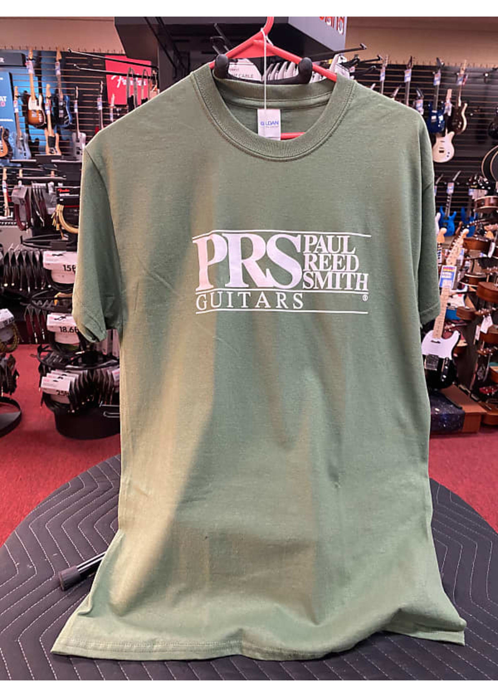 Paul Reed Smith Paul Reed Smith Classic Logo Tee (Olive Green)