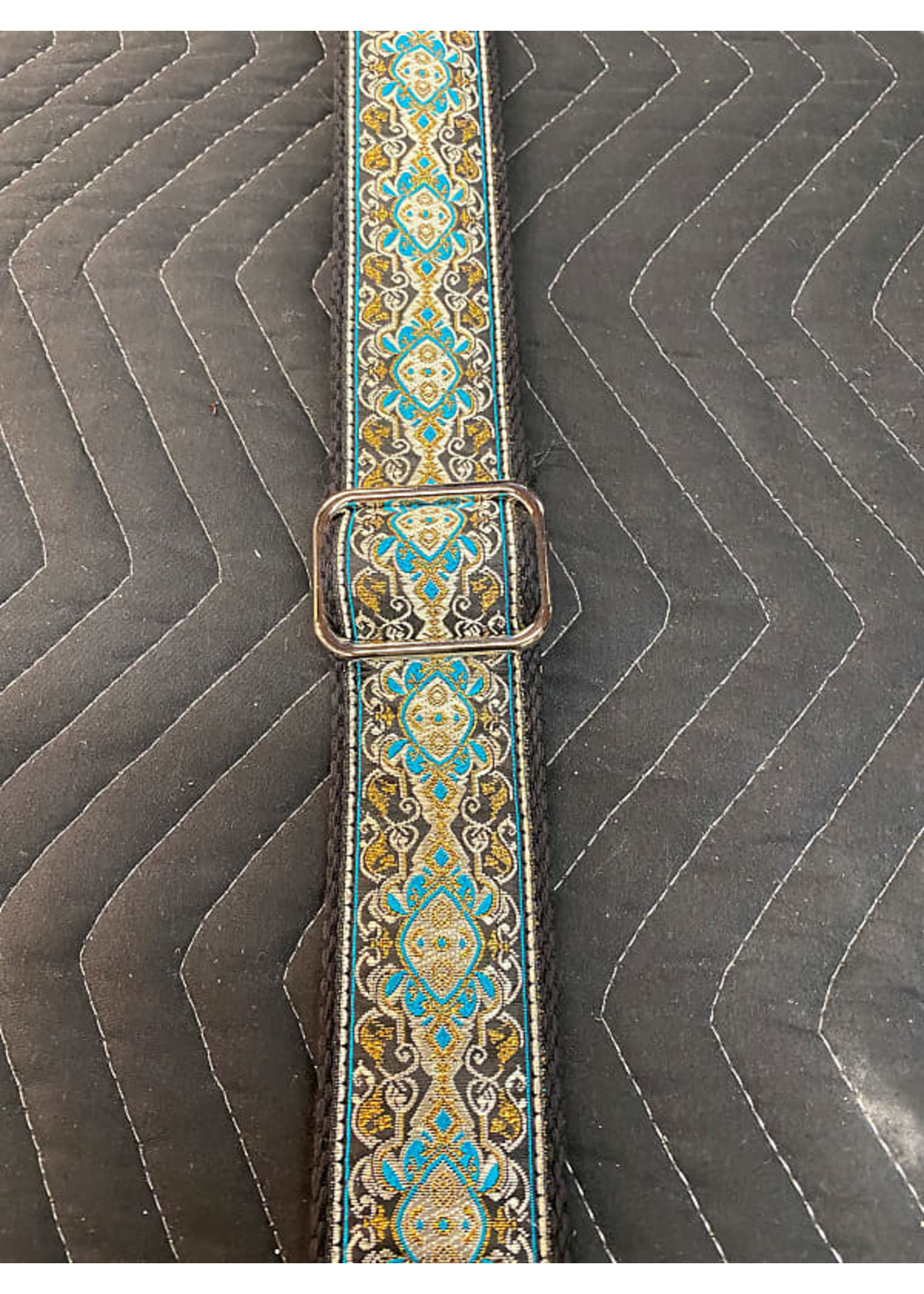 Paul Reed Smith Paul Reed Smith Jaquard Guitar Strap (Blue/Gold)