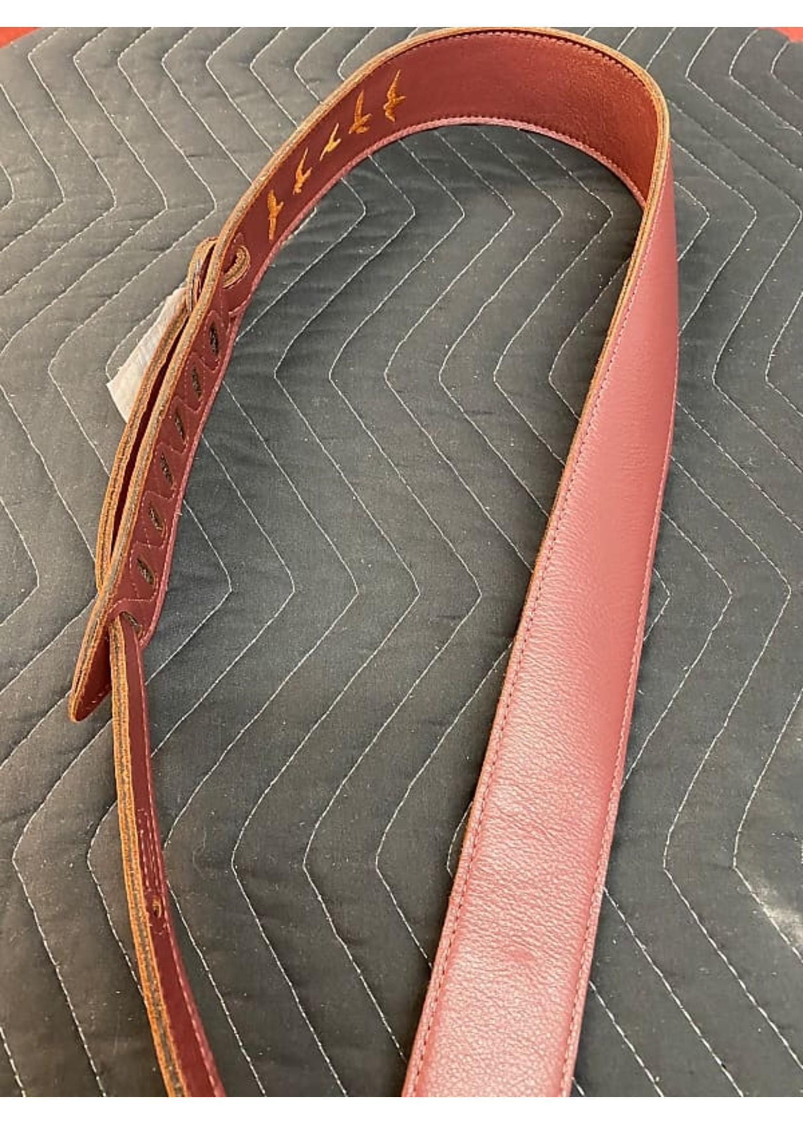 Paul Reed Smith PRS Premium Leather Strap - Burgundy