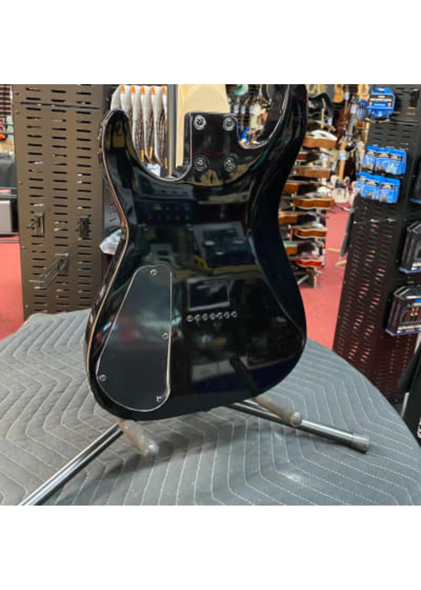 Jackson Jackson JS Series Dinky™ Arch Top JS22Q-7 DKA HT, Amaranth Fingerboard, Transparent Black Burst