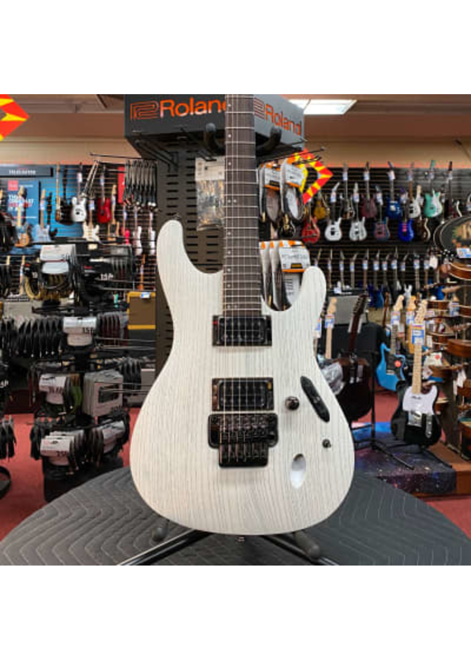 Ibanez Ibanez Paul Waggoner Signature PWM20 Electric Guitar - White Stain