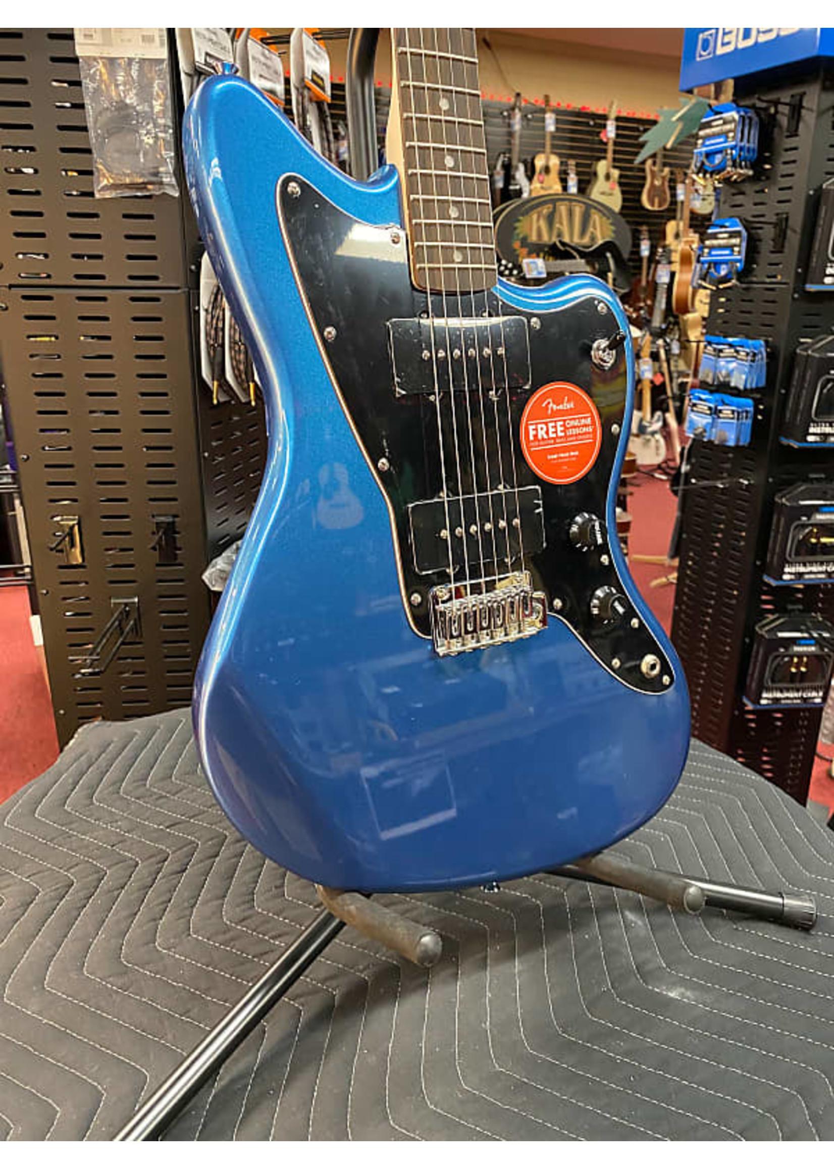 Fender Affinity Series™ Jazzmaster®, Laurel Fingerboard, Black Pickguard, Lake Placid Blue
