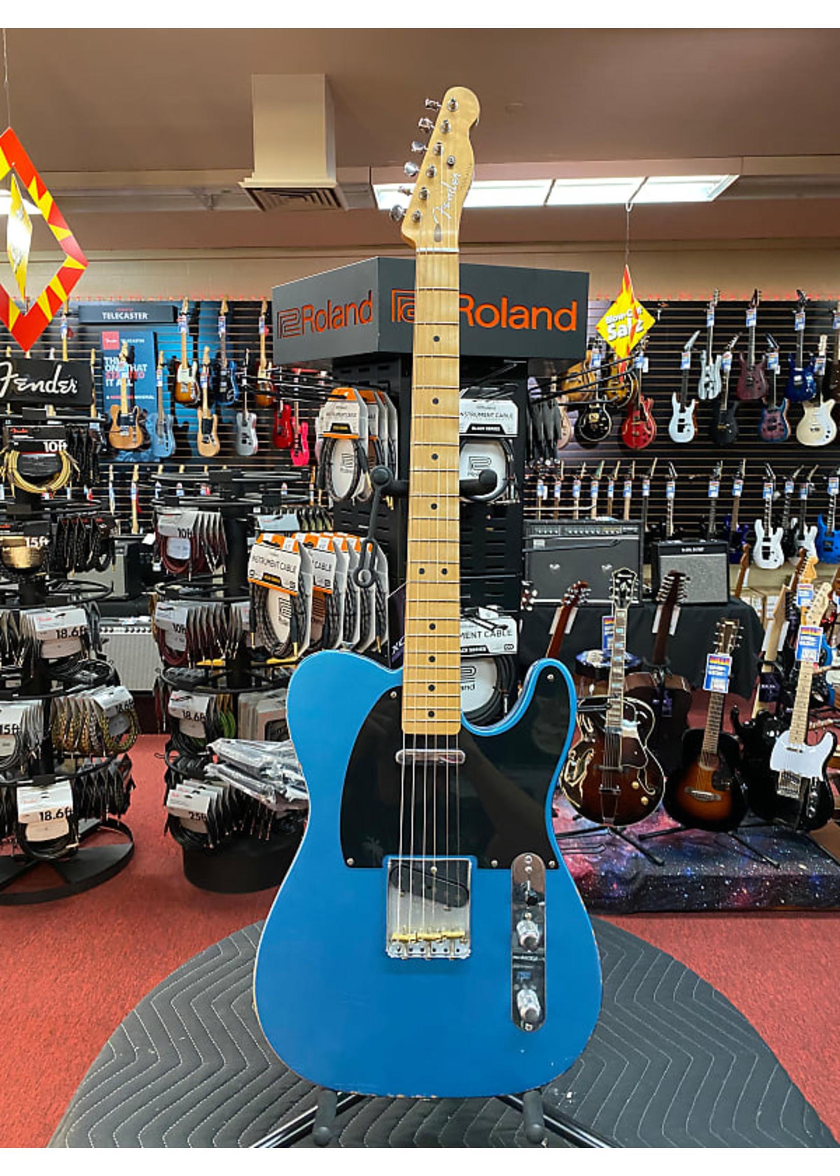 Fender Vintera Road Worn 50's Telecaster Lake Placid Blue