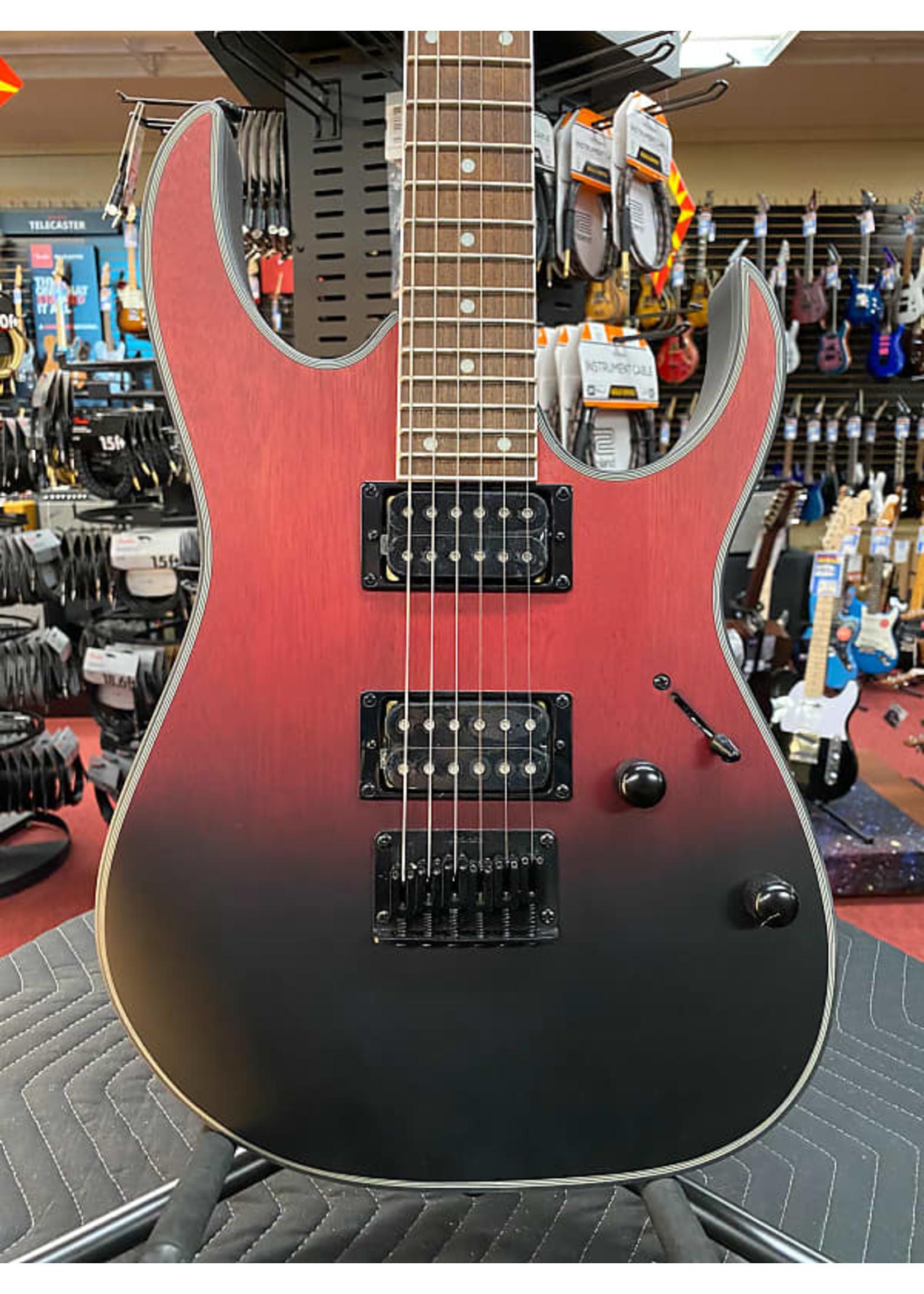 Ibanez Ibanez Standard RG421EX Electric Guitar - Transparent Crimson Fade Matte