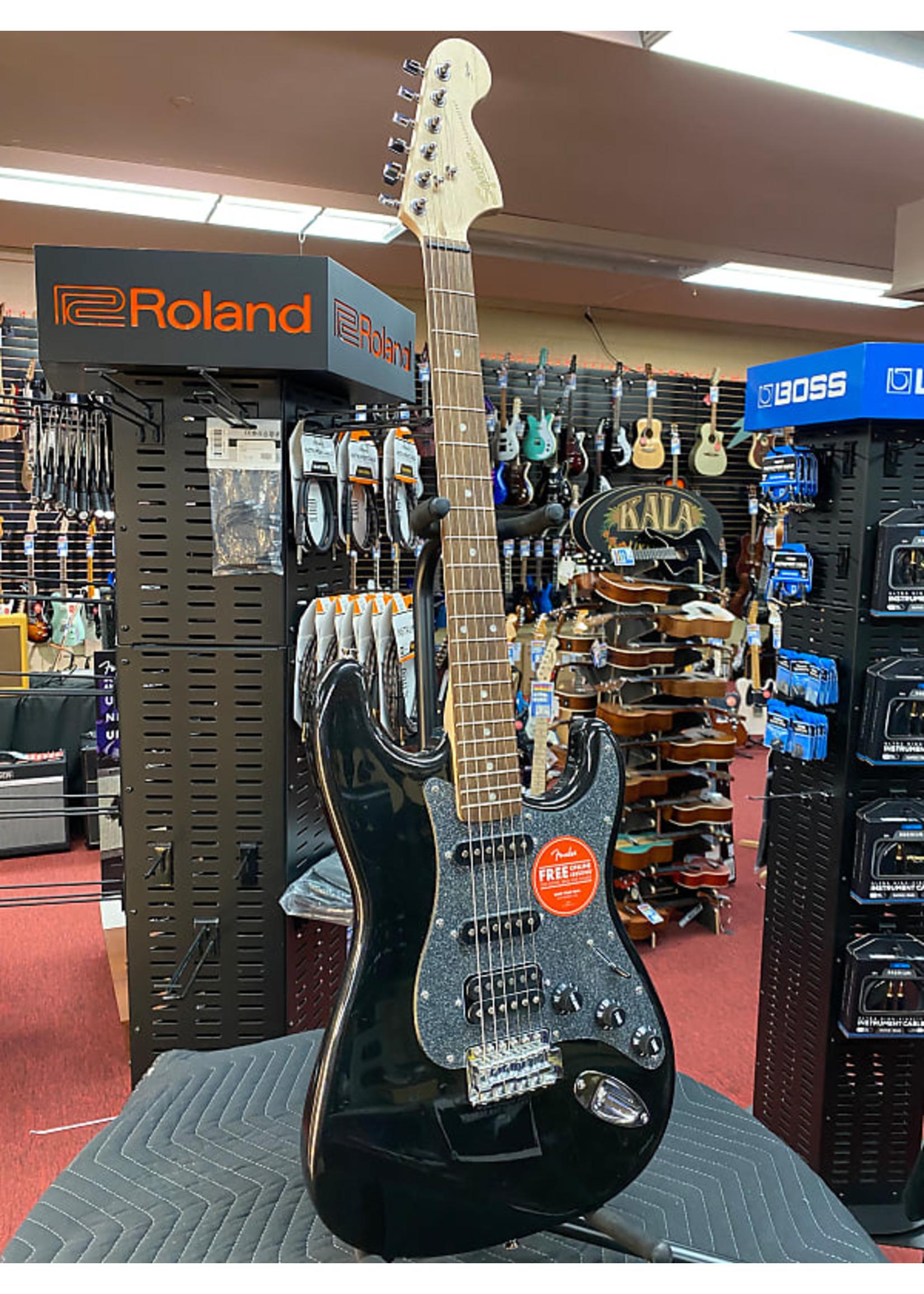 Squier Squier Affinity Series™ Stratocaster® HSS, Laurel Fingerboard, Montego Black Metallic