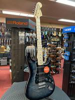 Squier Squire Affinity Series™ Stratocaster® FMT HSS, Maple Fingerboard, Black Pickguard, Black Burst