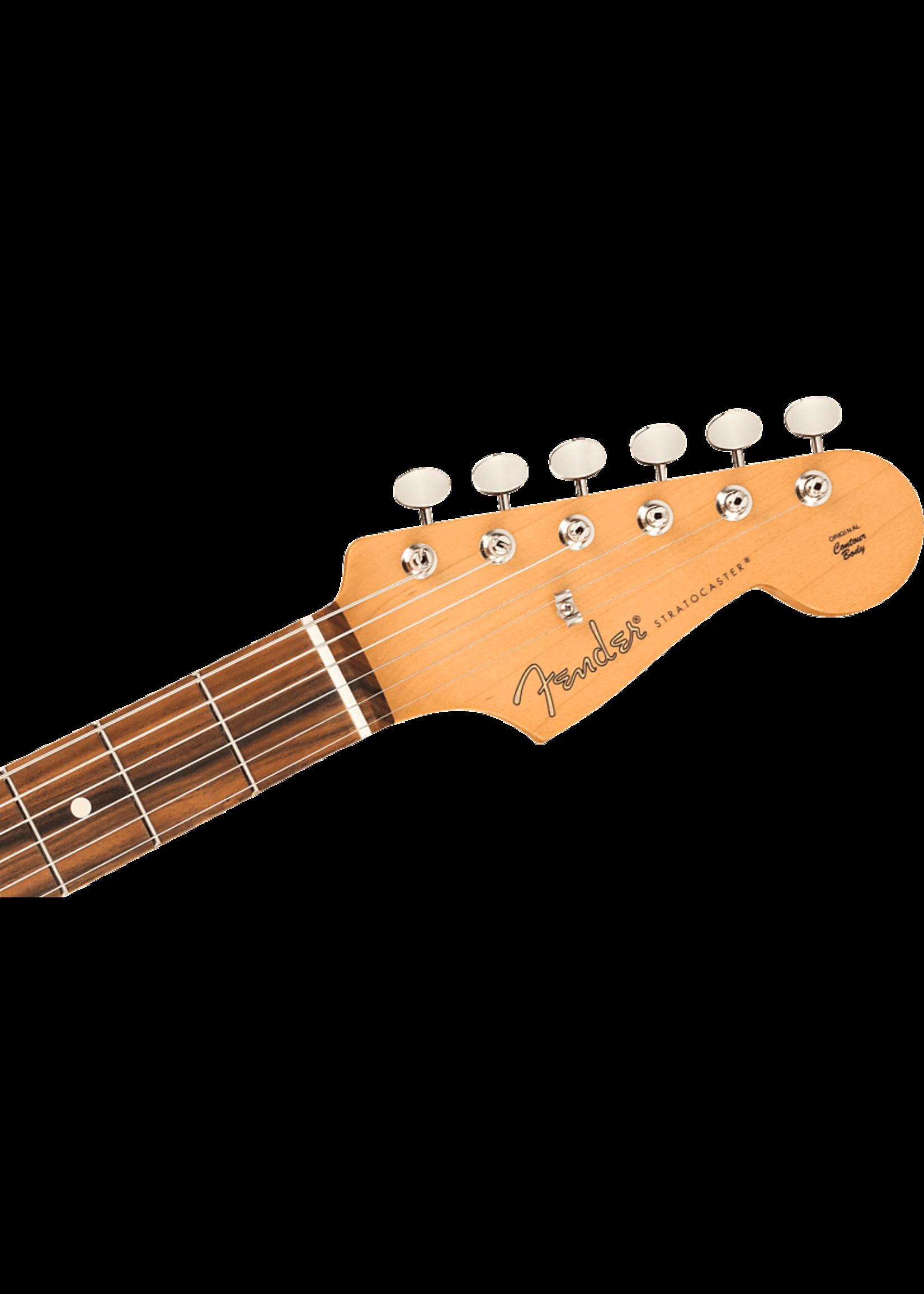 Fender Fender Noventa Strat Pao Ferro Crimson Red Transparent