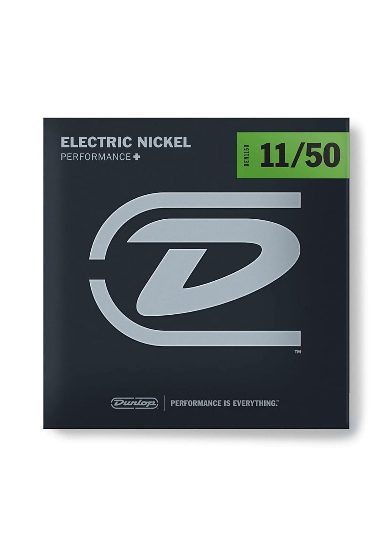Dunlop Dunlop DEN1150 PERFORMANCE+ ELECTRIC GUITAR STRINGS 11-50