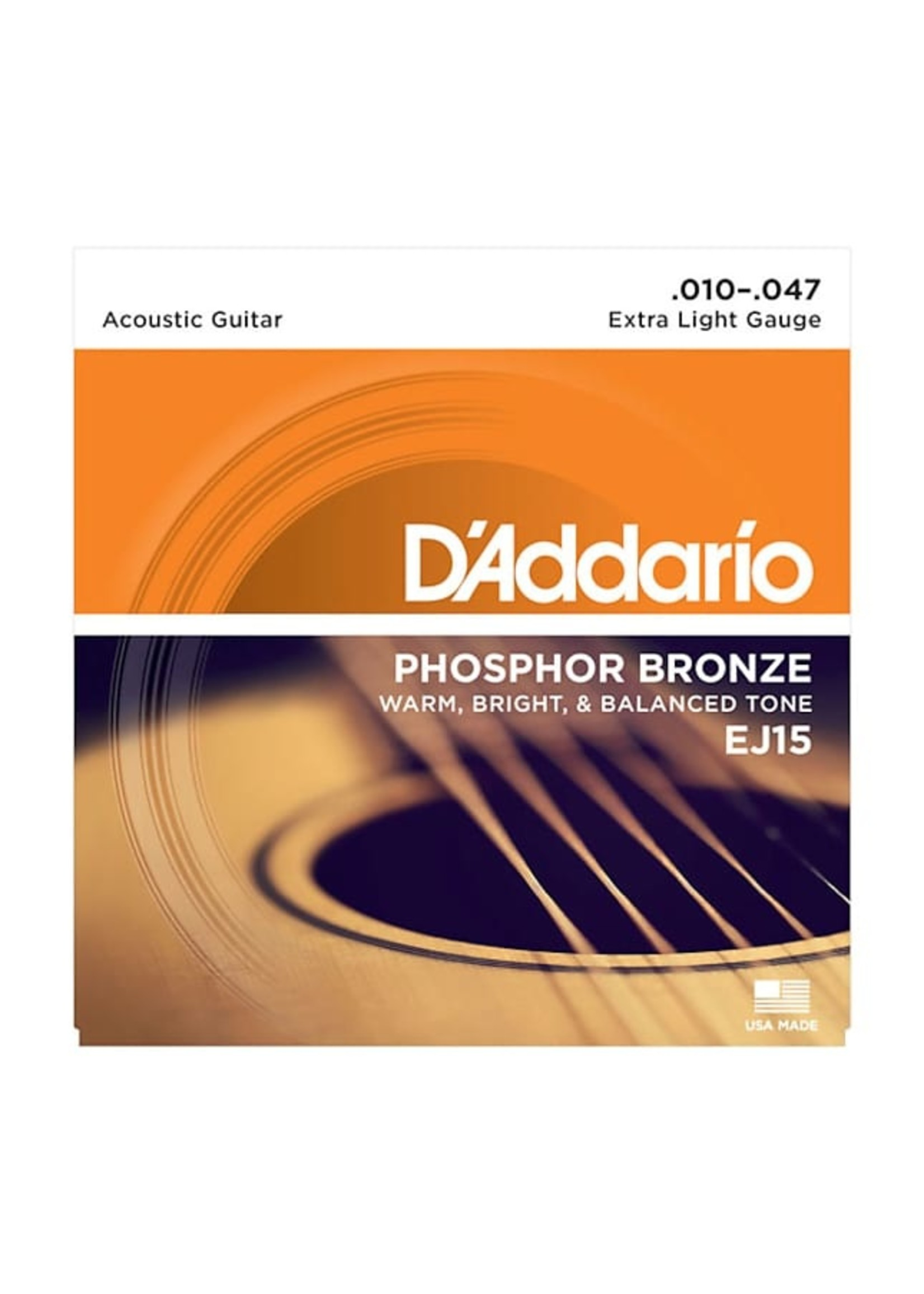 D'Addario D'Addario EJ15 10-47 Acoustic Guitar String Set