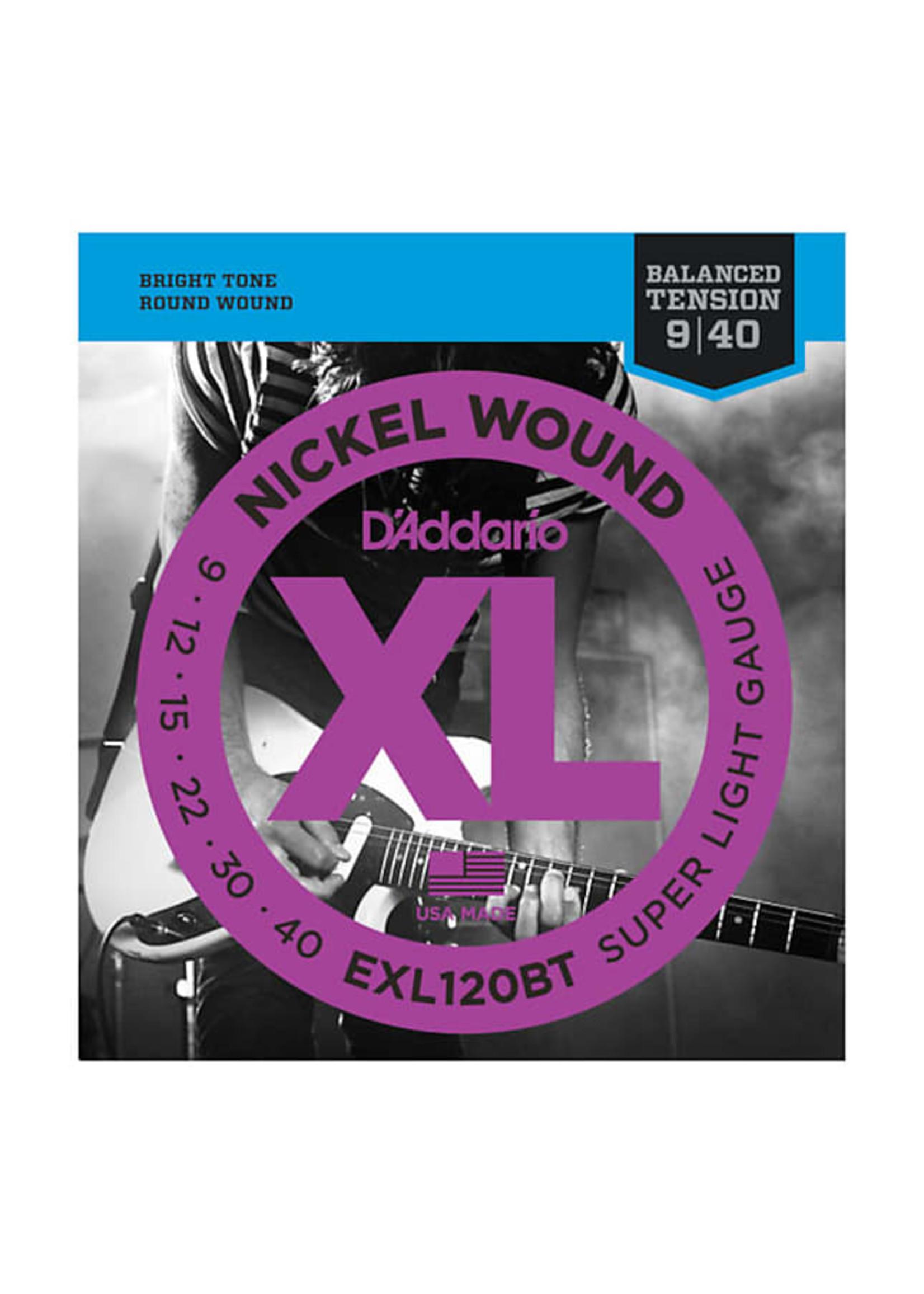 D'Addario D'Addario EXL120BT 9-40 Electric Guitar Strings