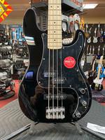 Squier Squier Affinity Series™ Precision Bass® PJ, Maple Fingerboard, Black Pickguard, Black
