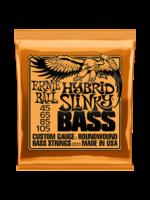 Ernie Ball Ernie Ball 2833 HYBRID SLINKY NICKEL WOUND ELECTRIC BASS STRINGS - 45-105