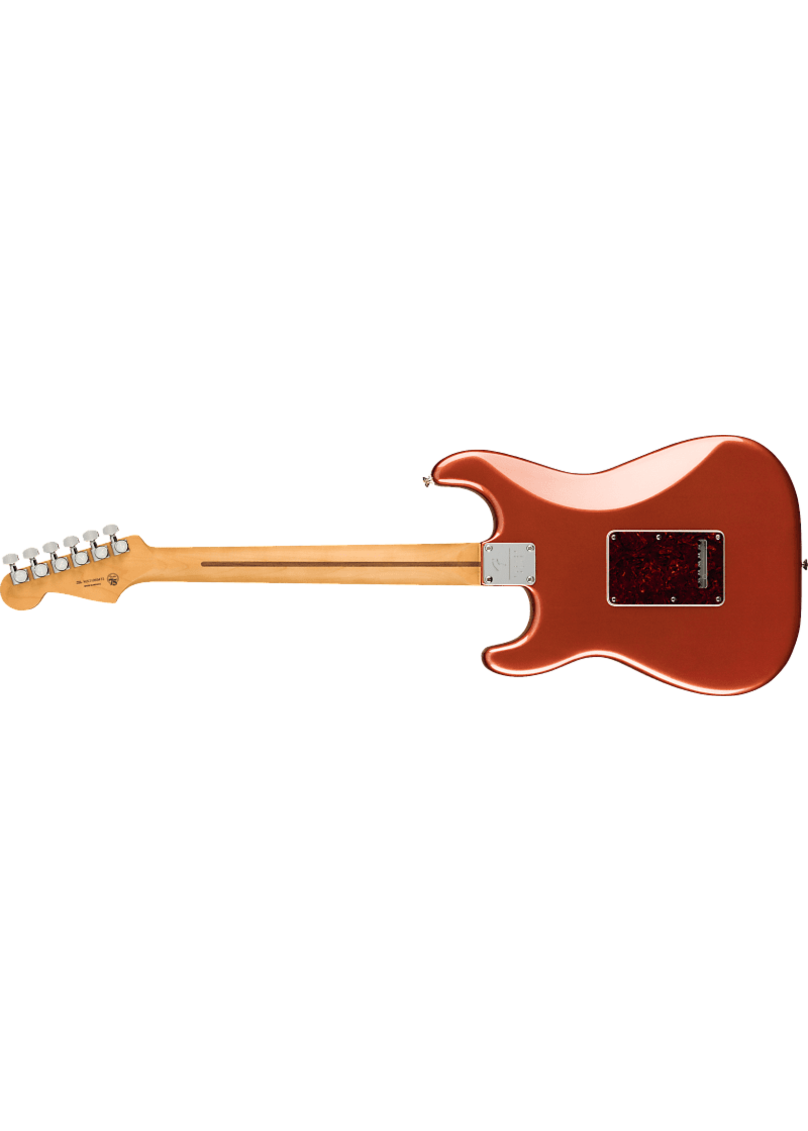 Fender Player Plus Stratocaster®, Pau Ferro Fingerboard, Aged Candy Apple Red