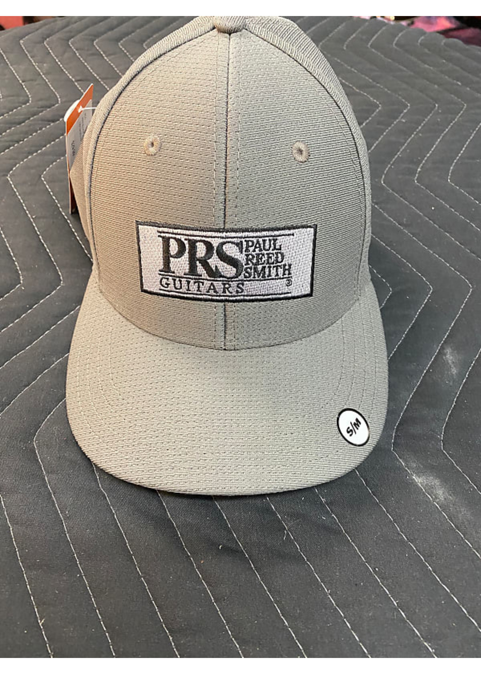 Paul Reed Smith PRS Block Logo Fitted Baseball Hat, Gray
