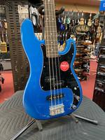 Squier Squier Affinity Series™ Precision Bass® PJ, Laurel Fingerboard, Black Pickguard, Lake Placid Blue