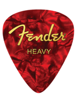 Fender Fender™ Heavy Pick Mouse Pad, Red